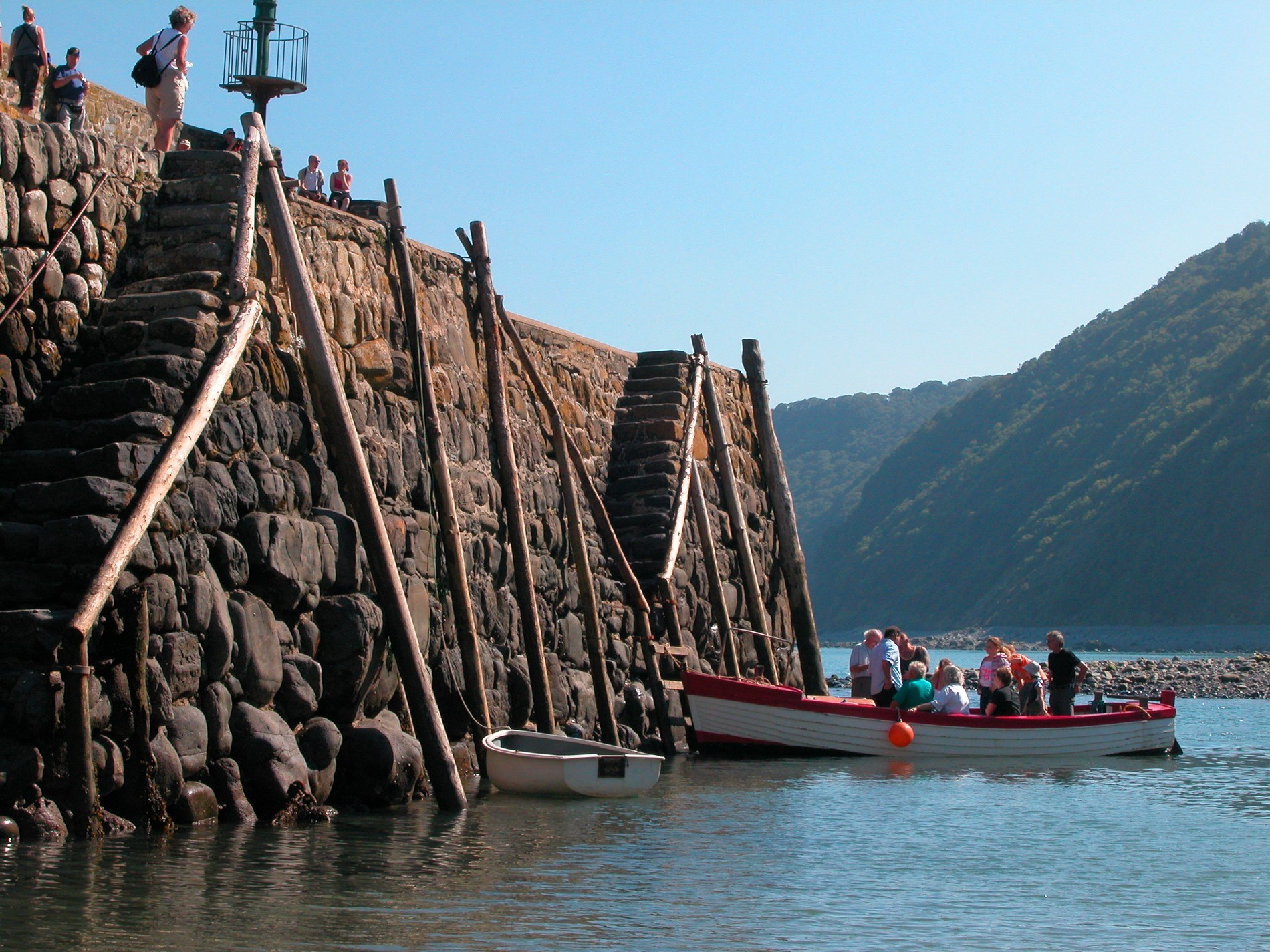 Visit Clovelly, a short drive from the property