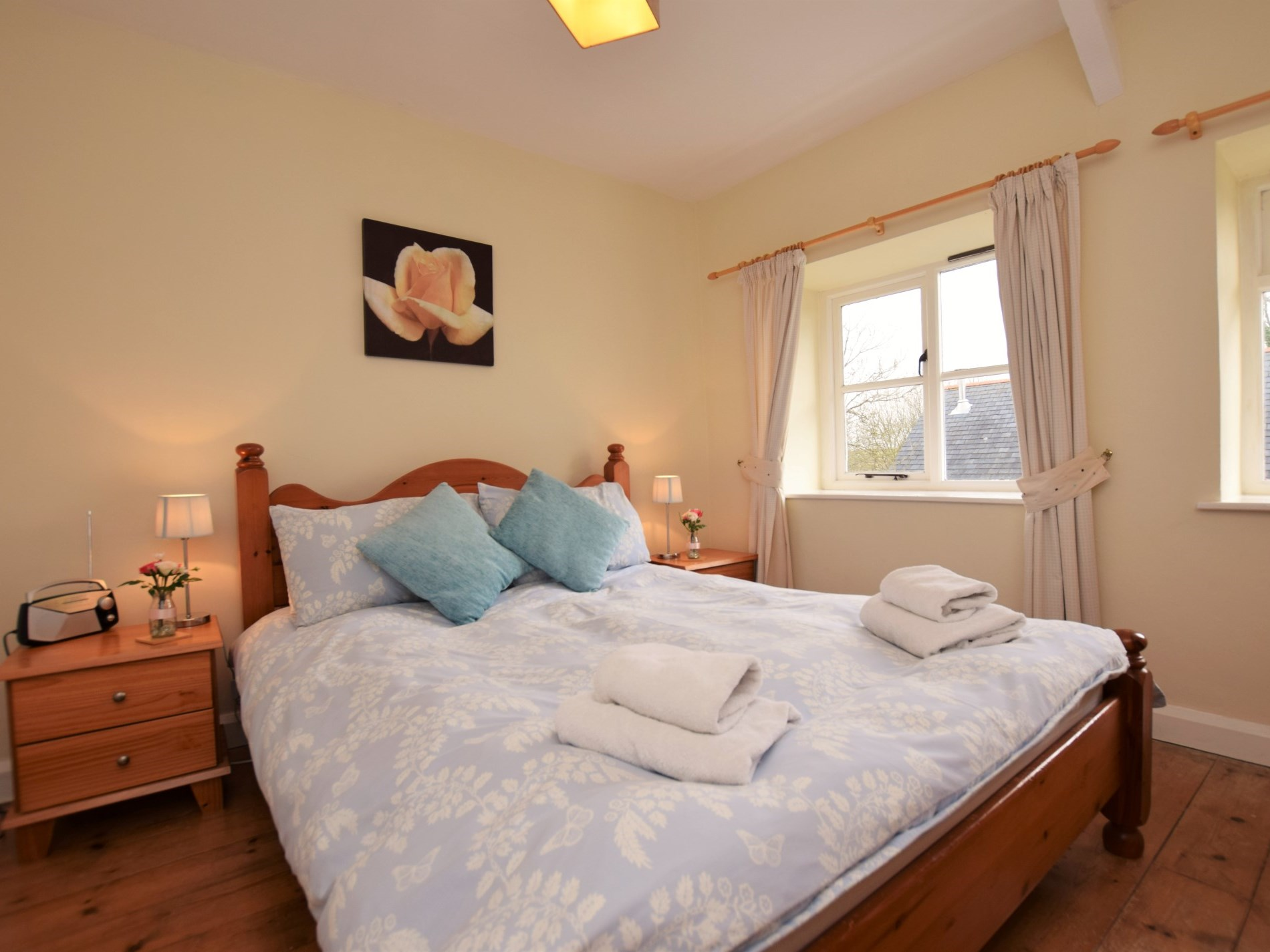 Lovingly finished double bedroom