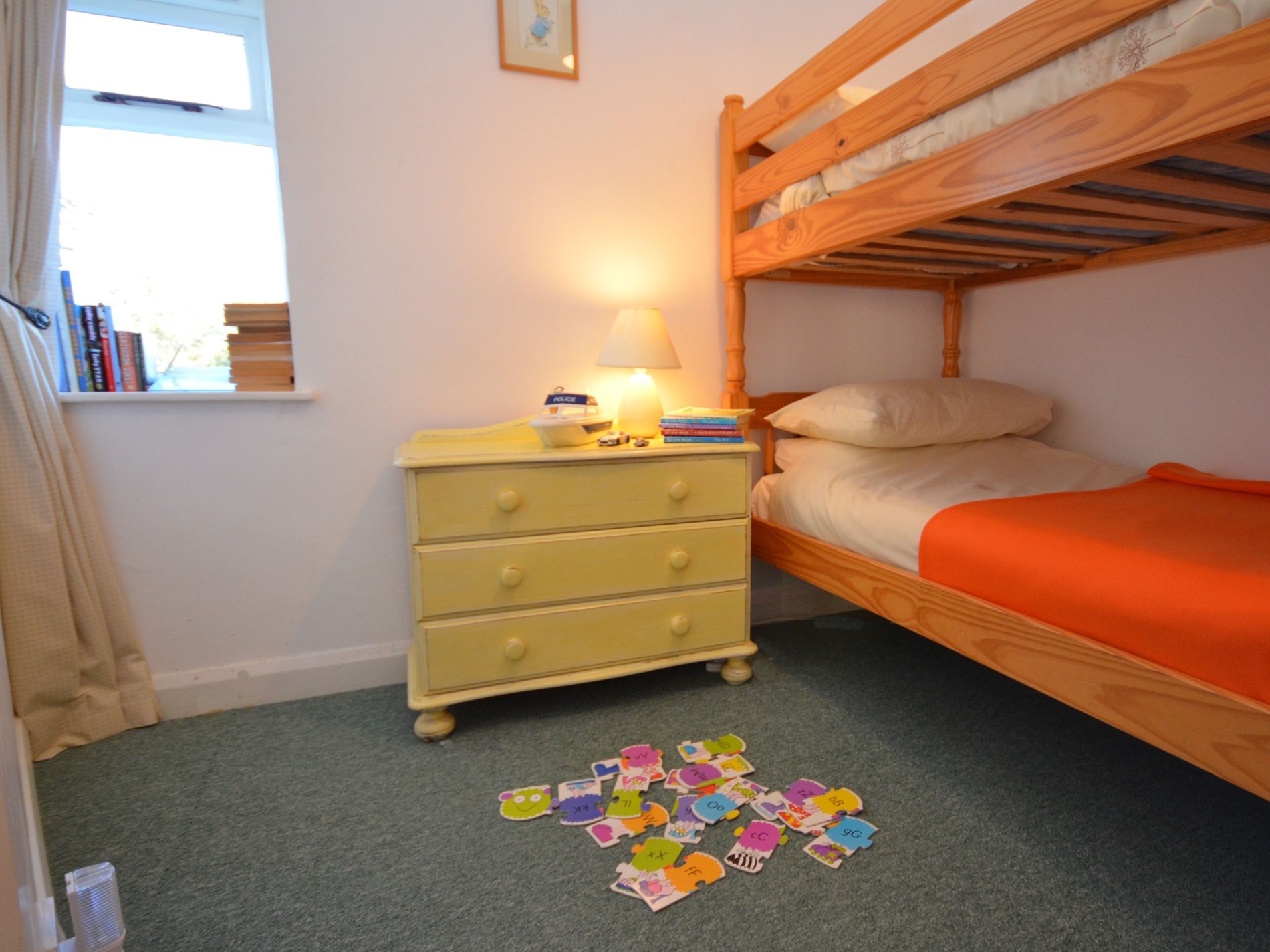Bunk room perfect for kids!