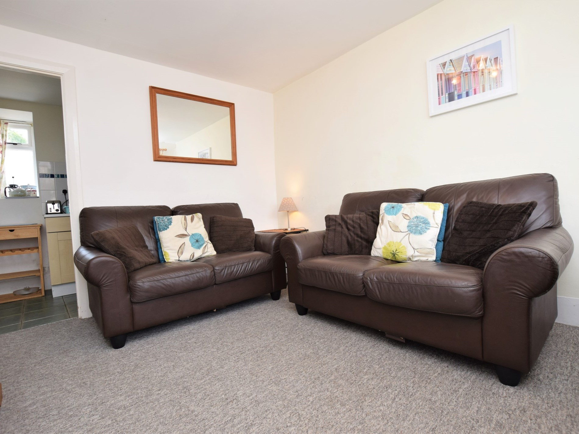 Relax in the sofas after a day exploring