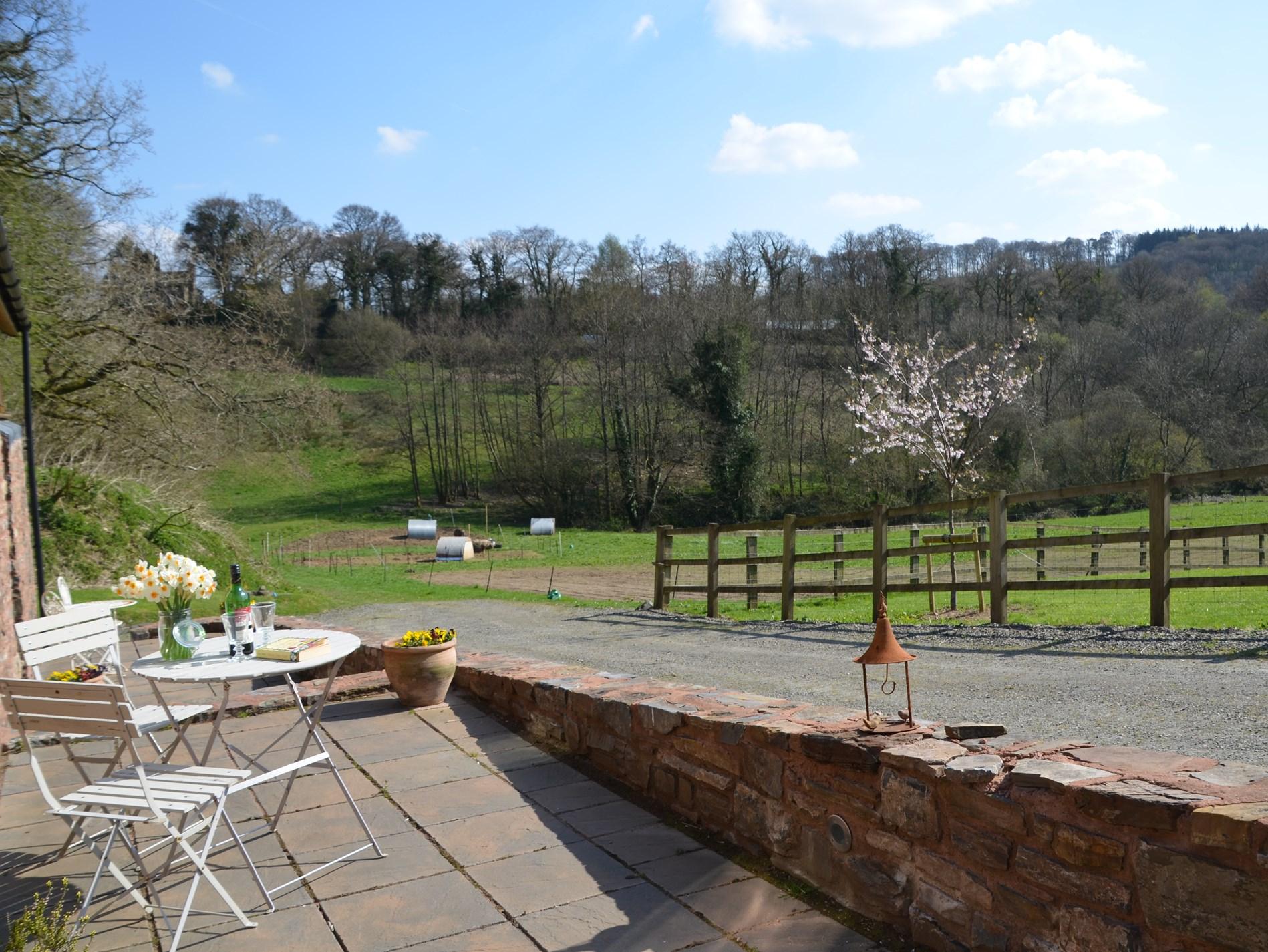 Perfect, secluded romantic retreat in a beautful countryside setting