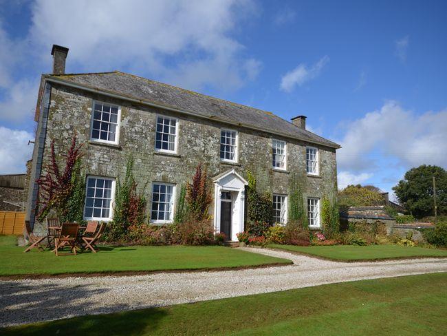 Traditional manor farmhouse