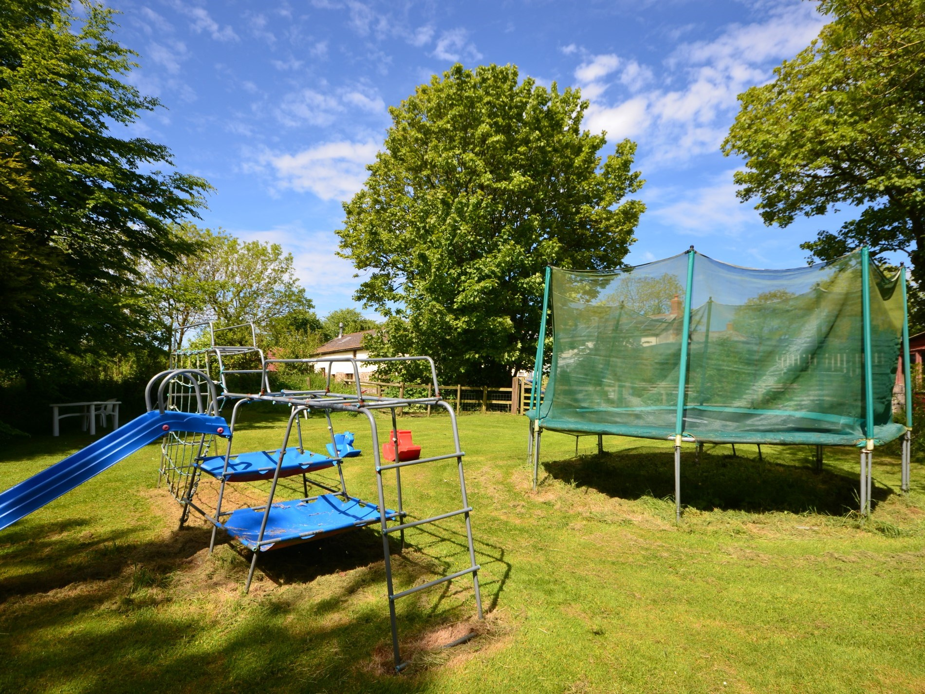 Plenty of space for the children to play