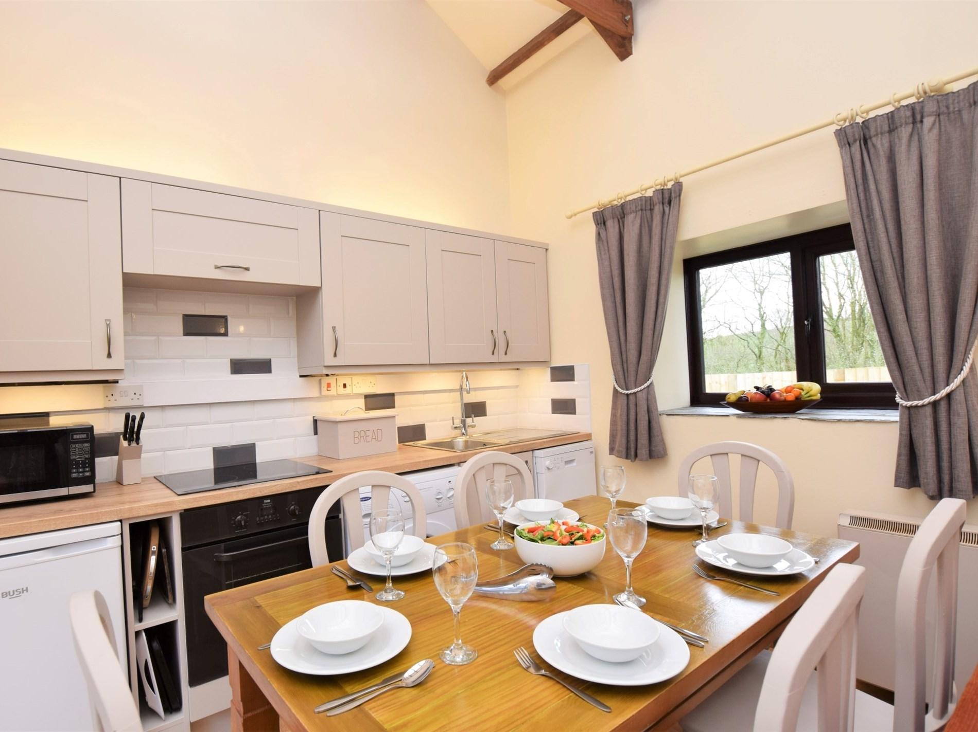 Stunning kitchen area