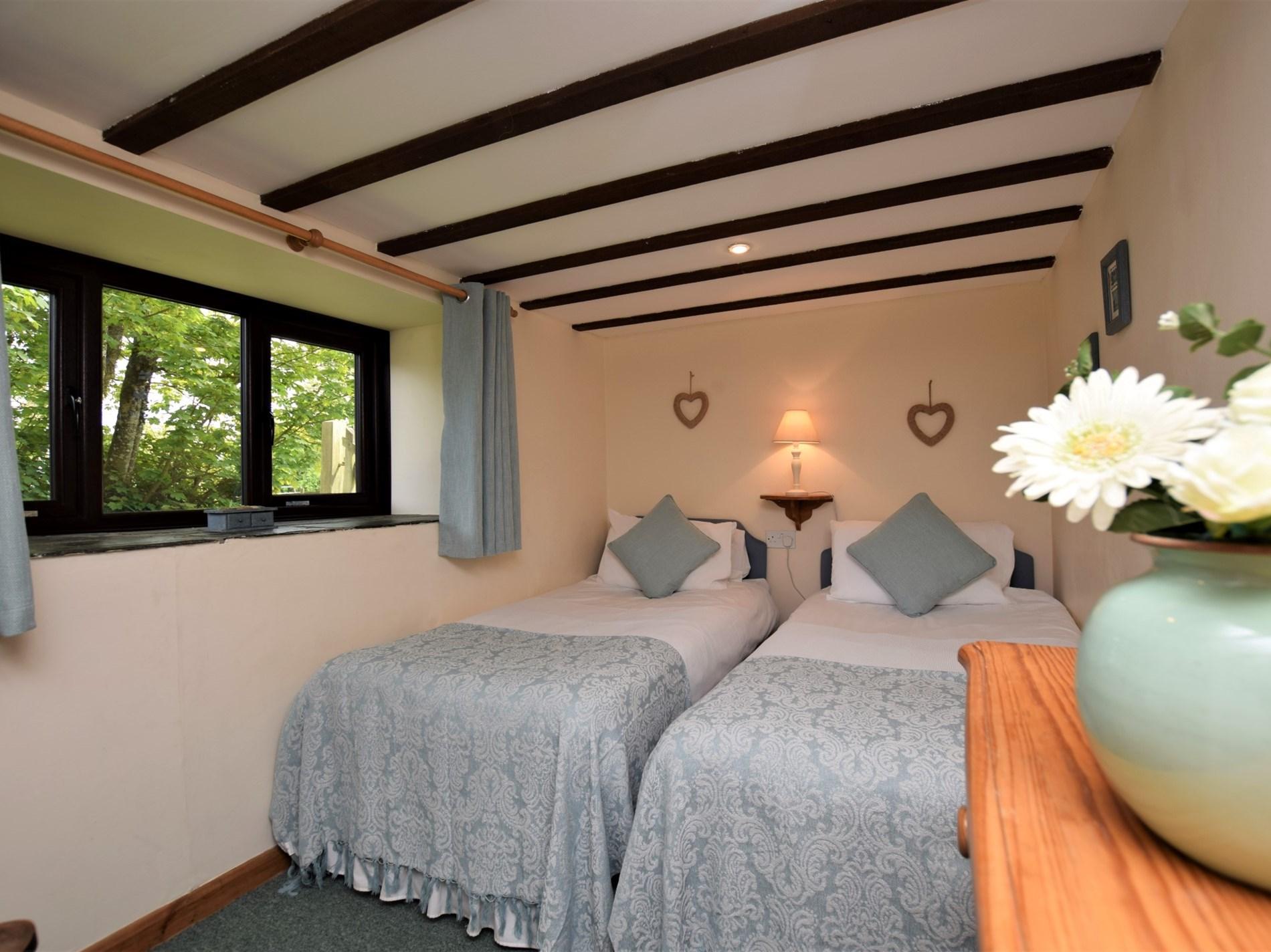 Downstairs twin bedroom