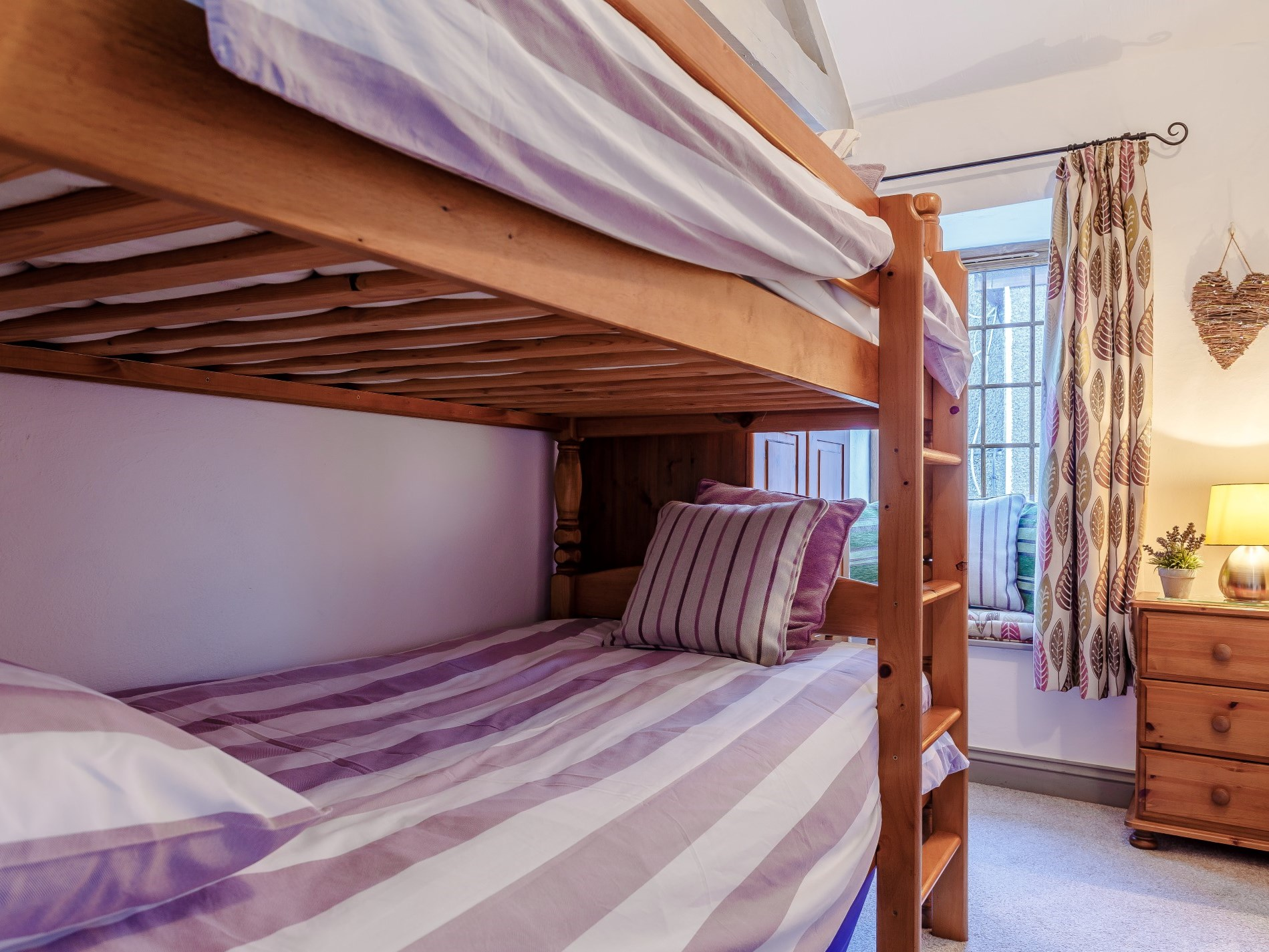 Bunk bed in the second bedroom - not just for kids