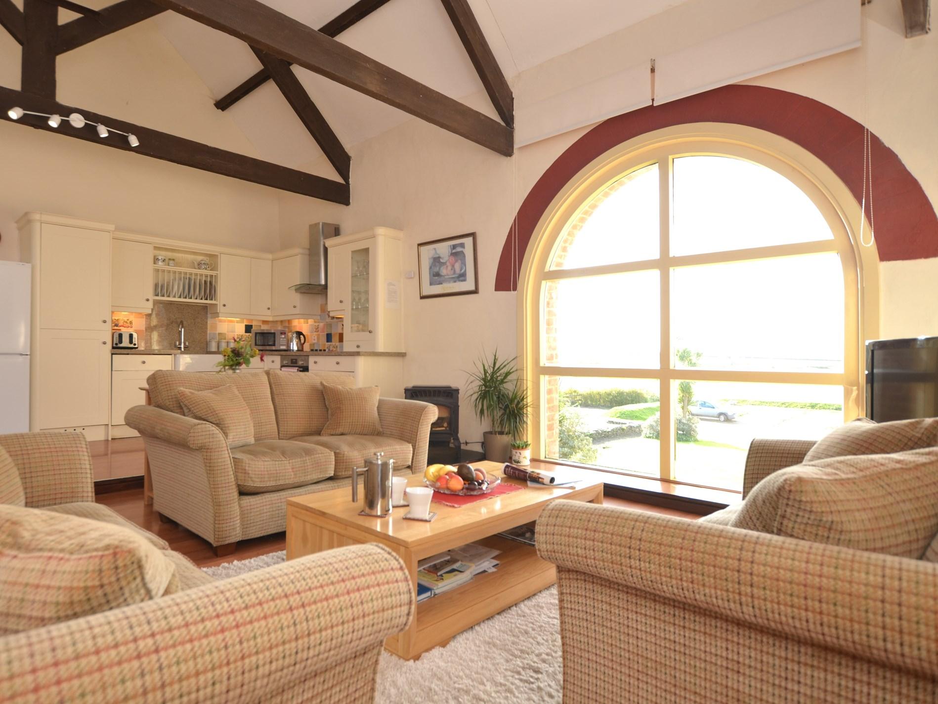 Beautiful open-plan living space
