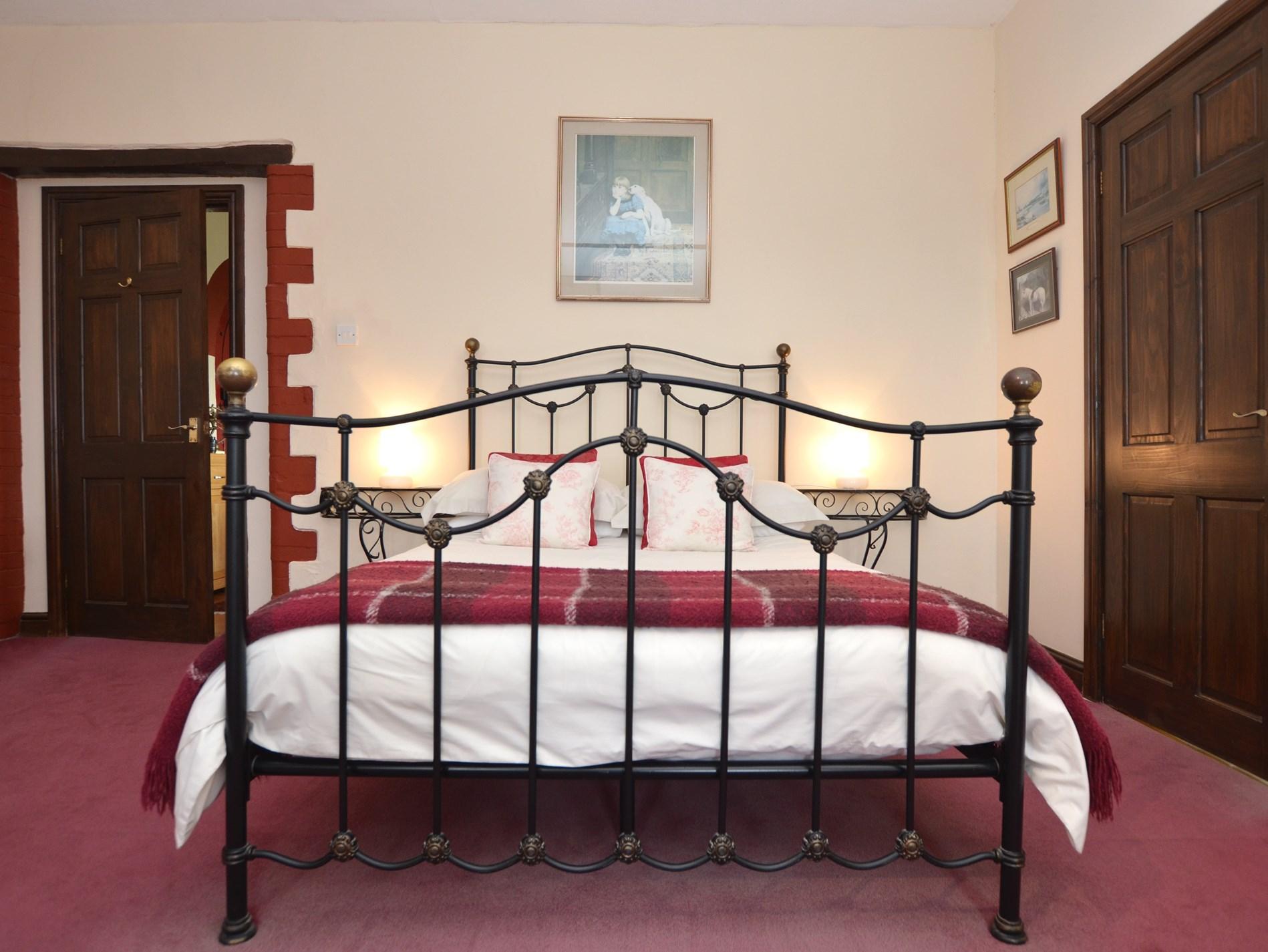 Fabulous wrought iron bed