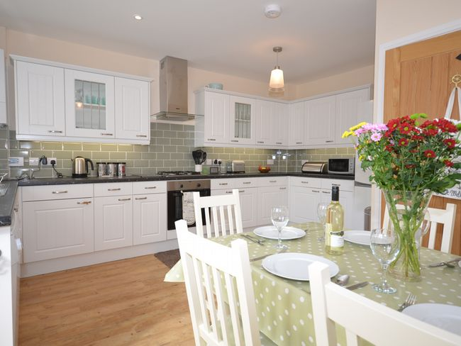 Well equipped kitchen/diner, on the ground floor
