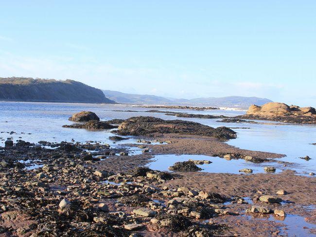 Pebble beach at Watchet