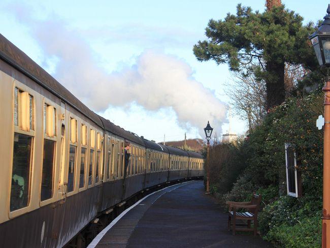 Enjoy a ride on the West Somerset Steam Railway