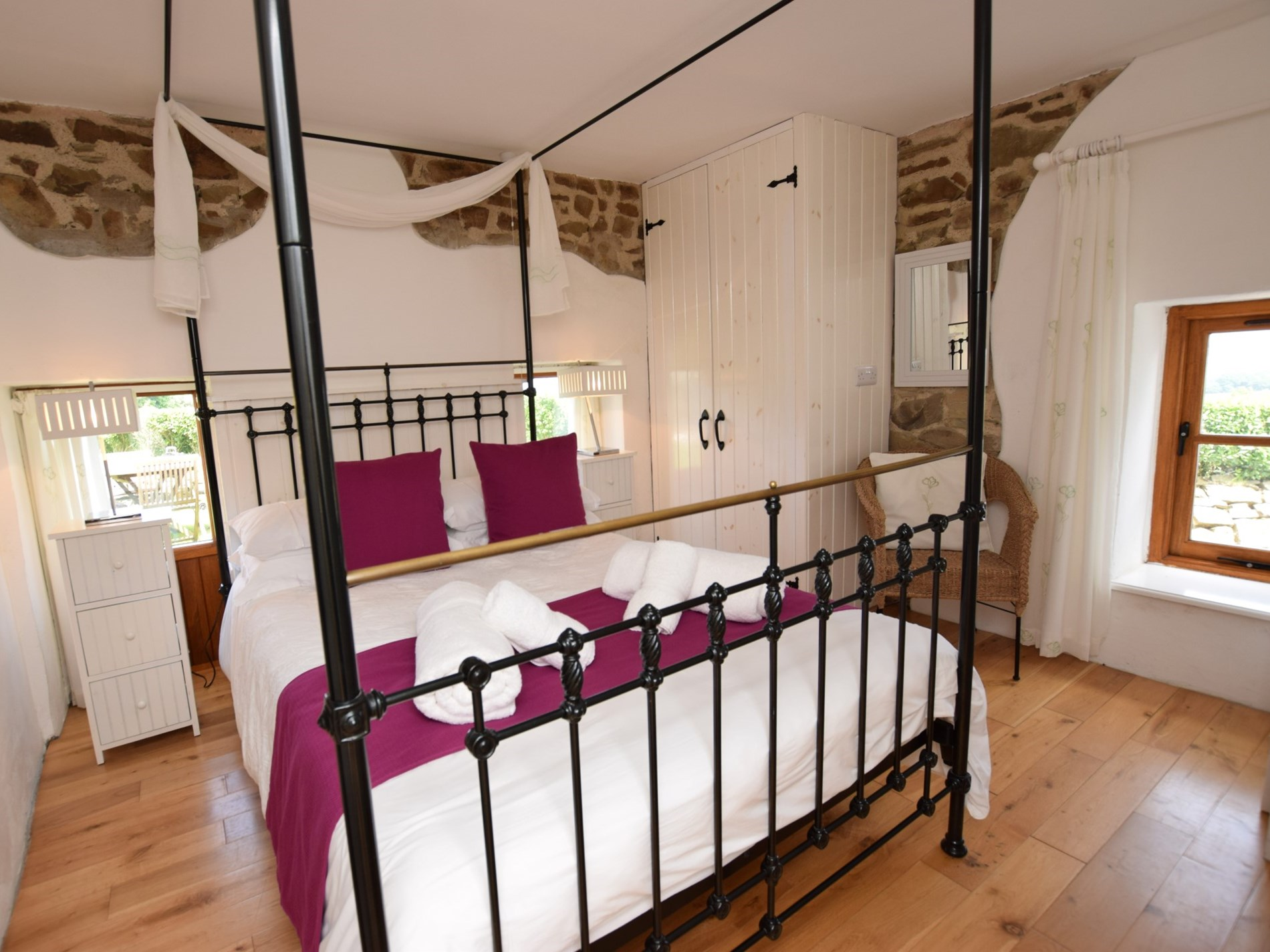 Double bedroom located on the ground floor