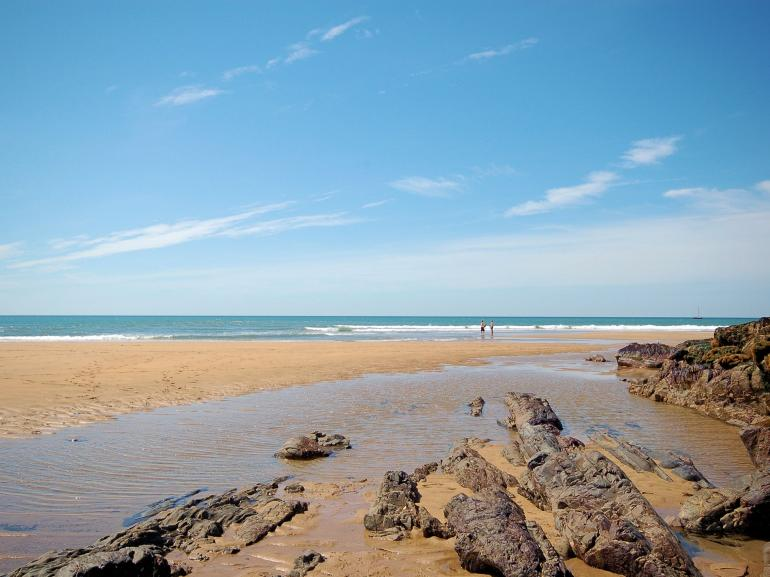 Bude, a short drive from the property