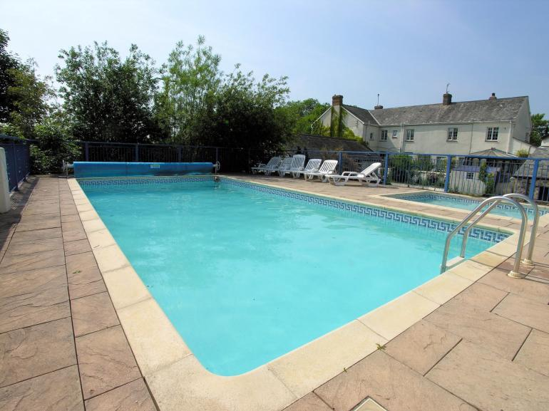 Shared enclosed swimming pool