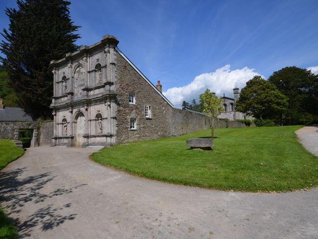 View towards this unique property