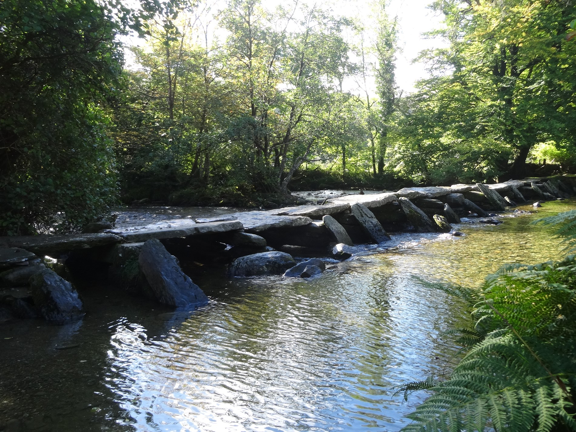 Enjoy Tarr steps only 5.5miles from the property, located on Exmoor National Park