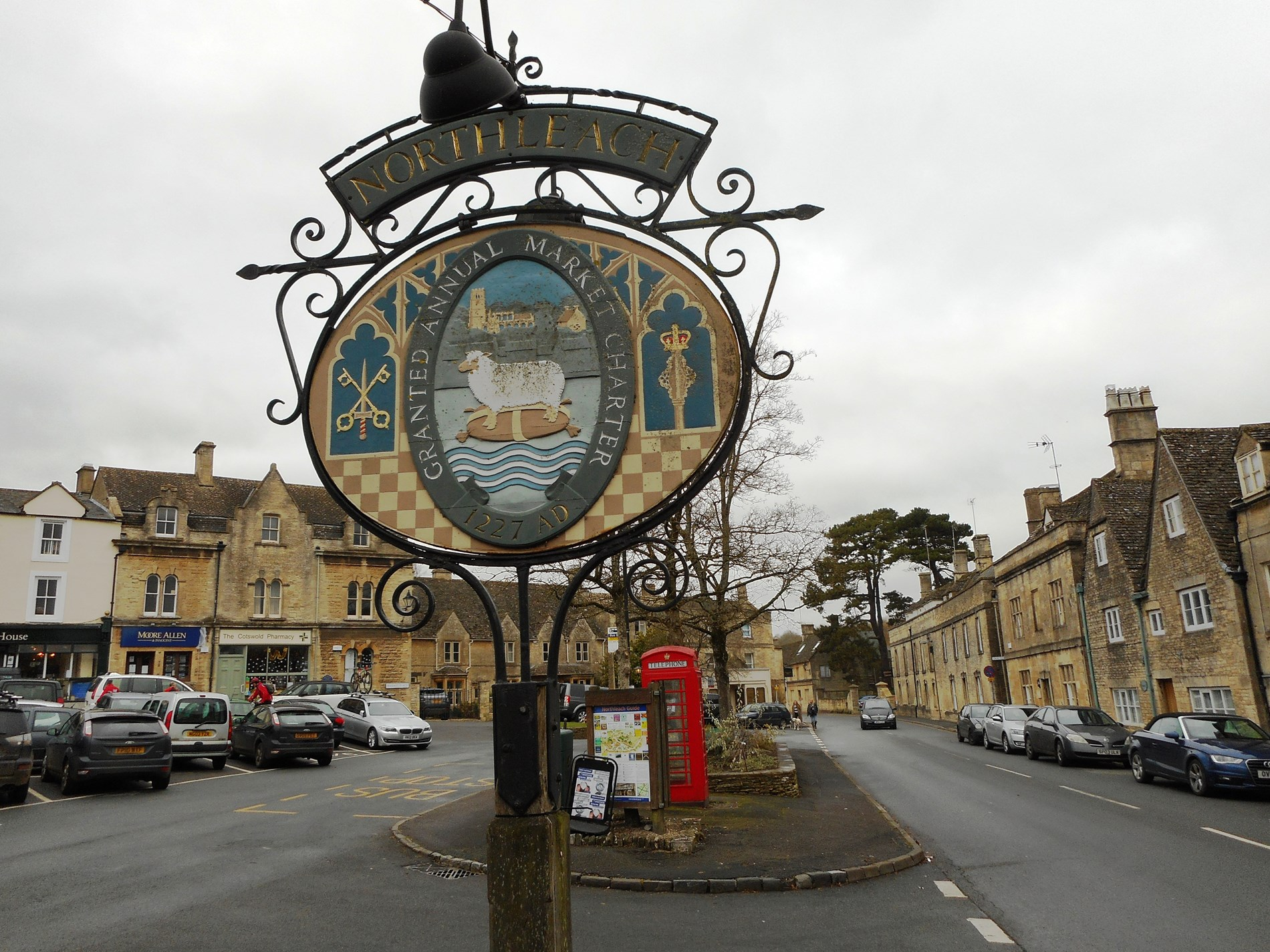 Northleach market town