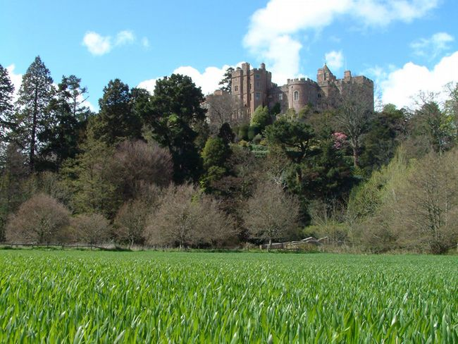 Nearby Dunster Castle