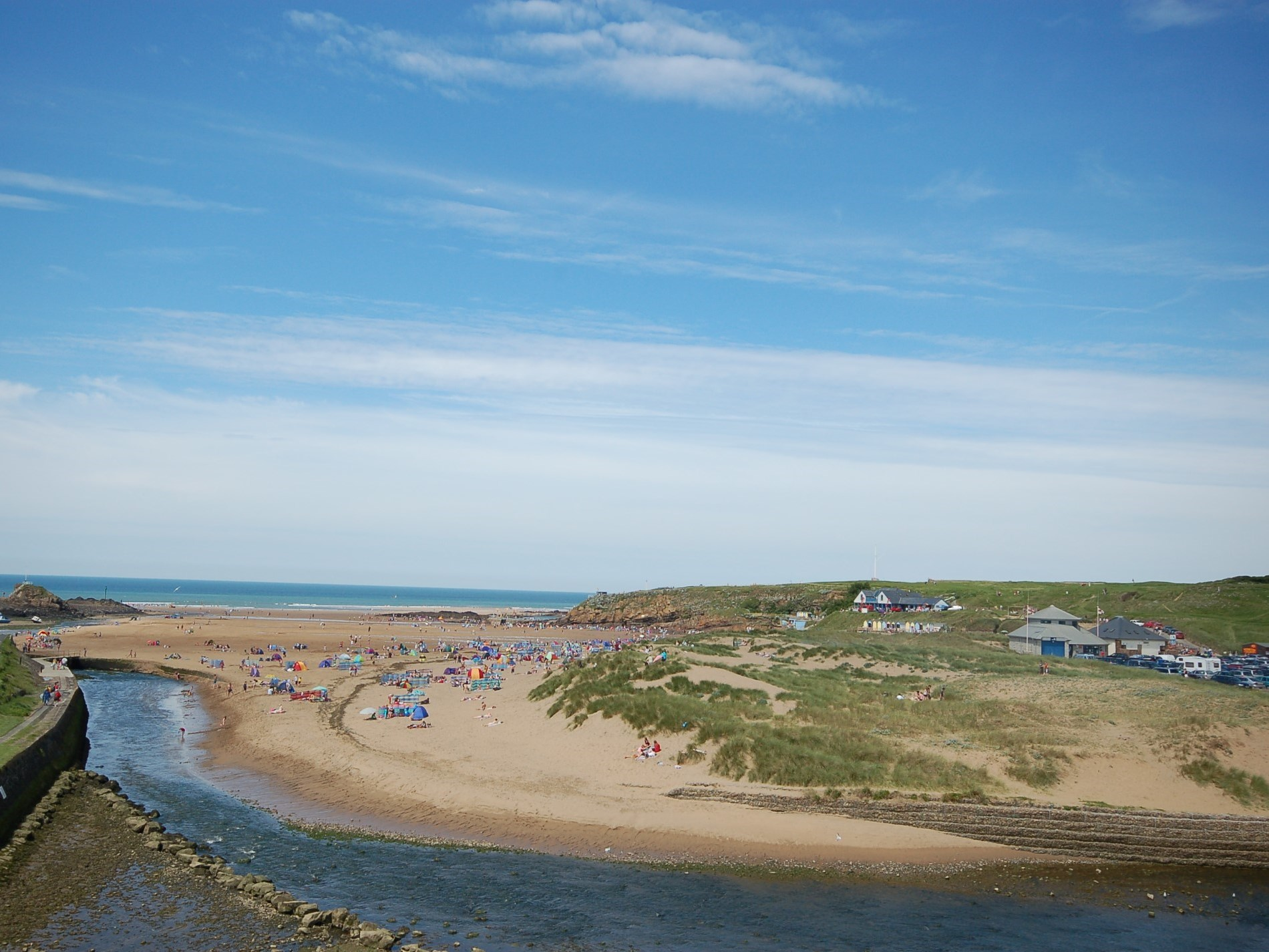 Expansive beach of Bude only 20 miles from property