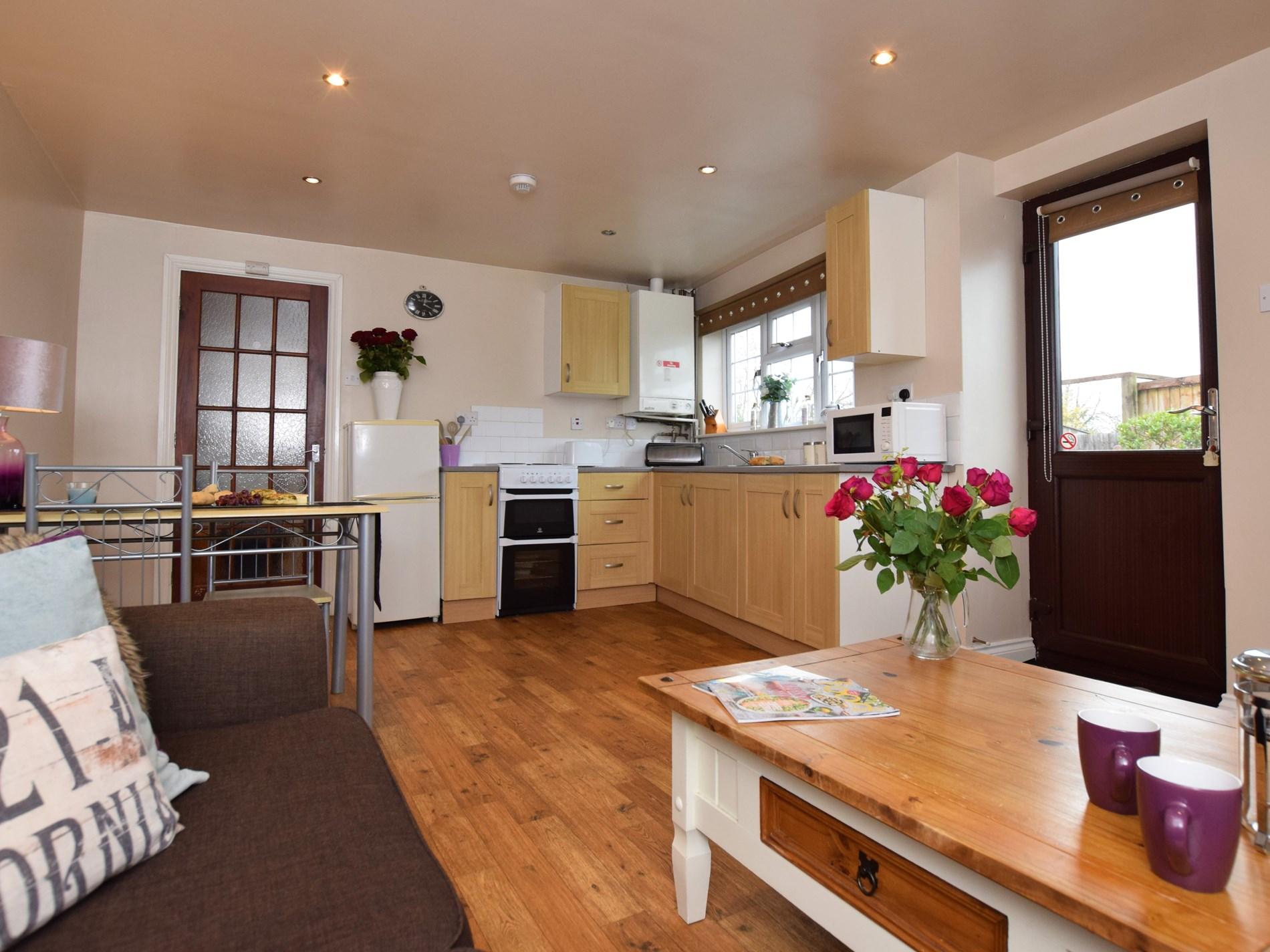 Beautiful open plan lounge/kitchen/diner