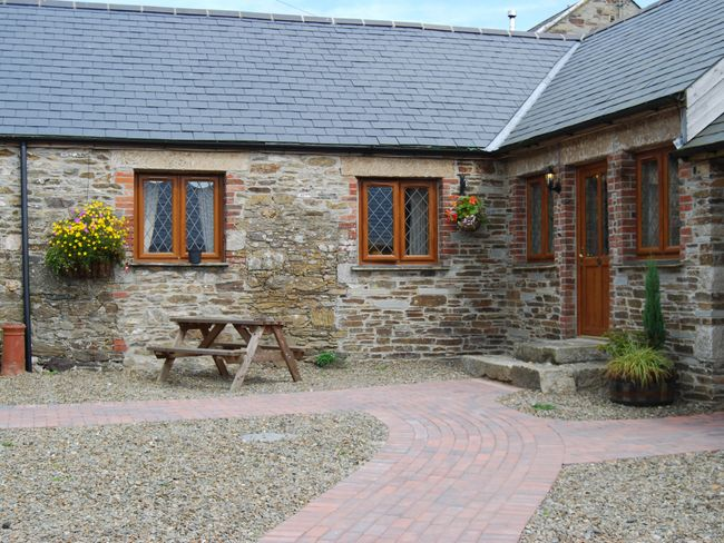 View of the property and outside seating area