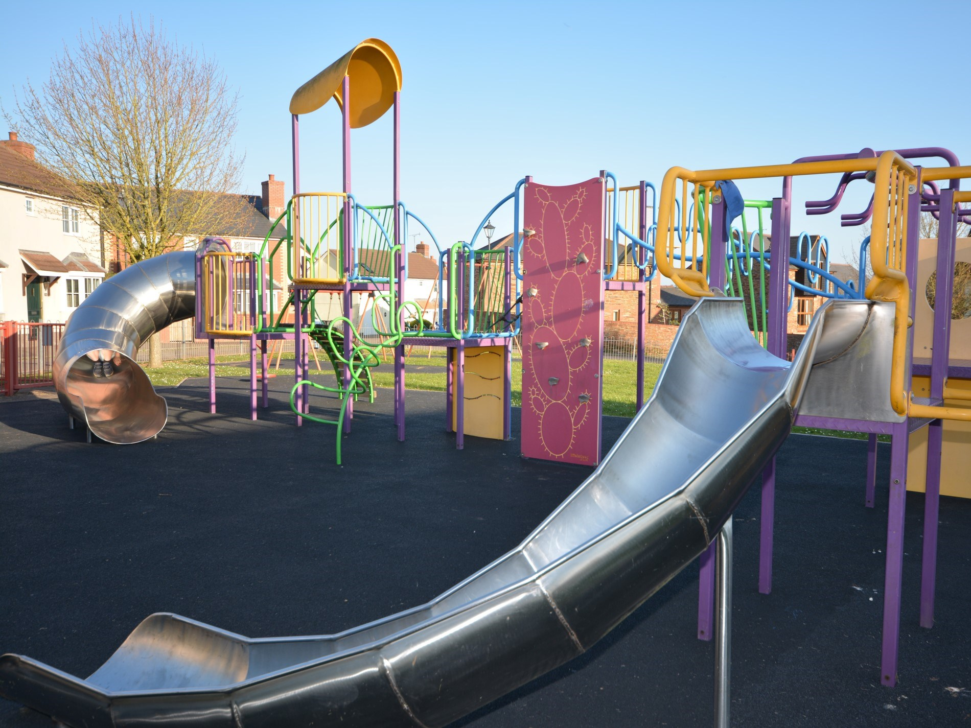 Local play area just across the road from property