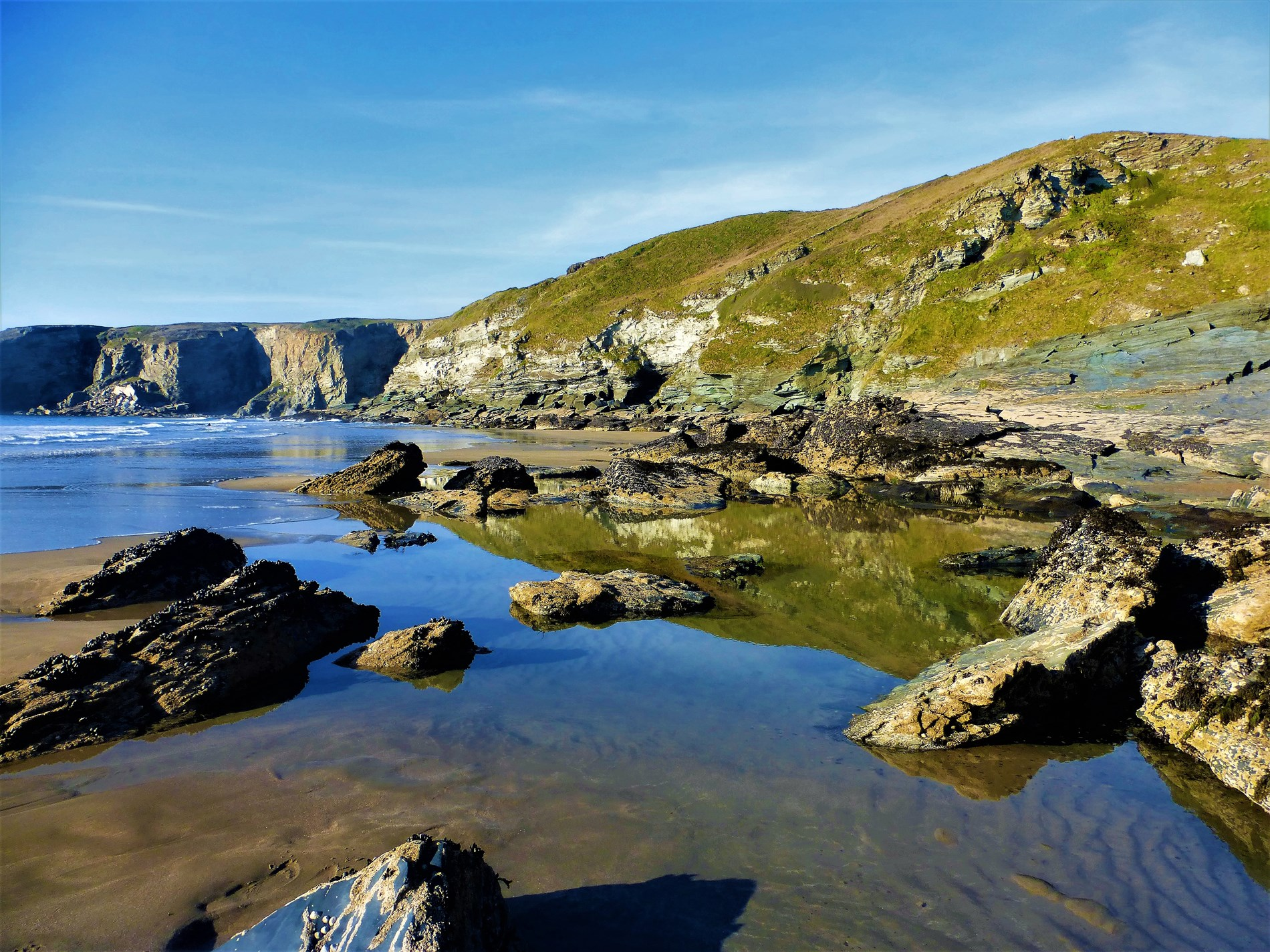 Under half an hour away from beautiful beaches on the North Coast