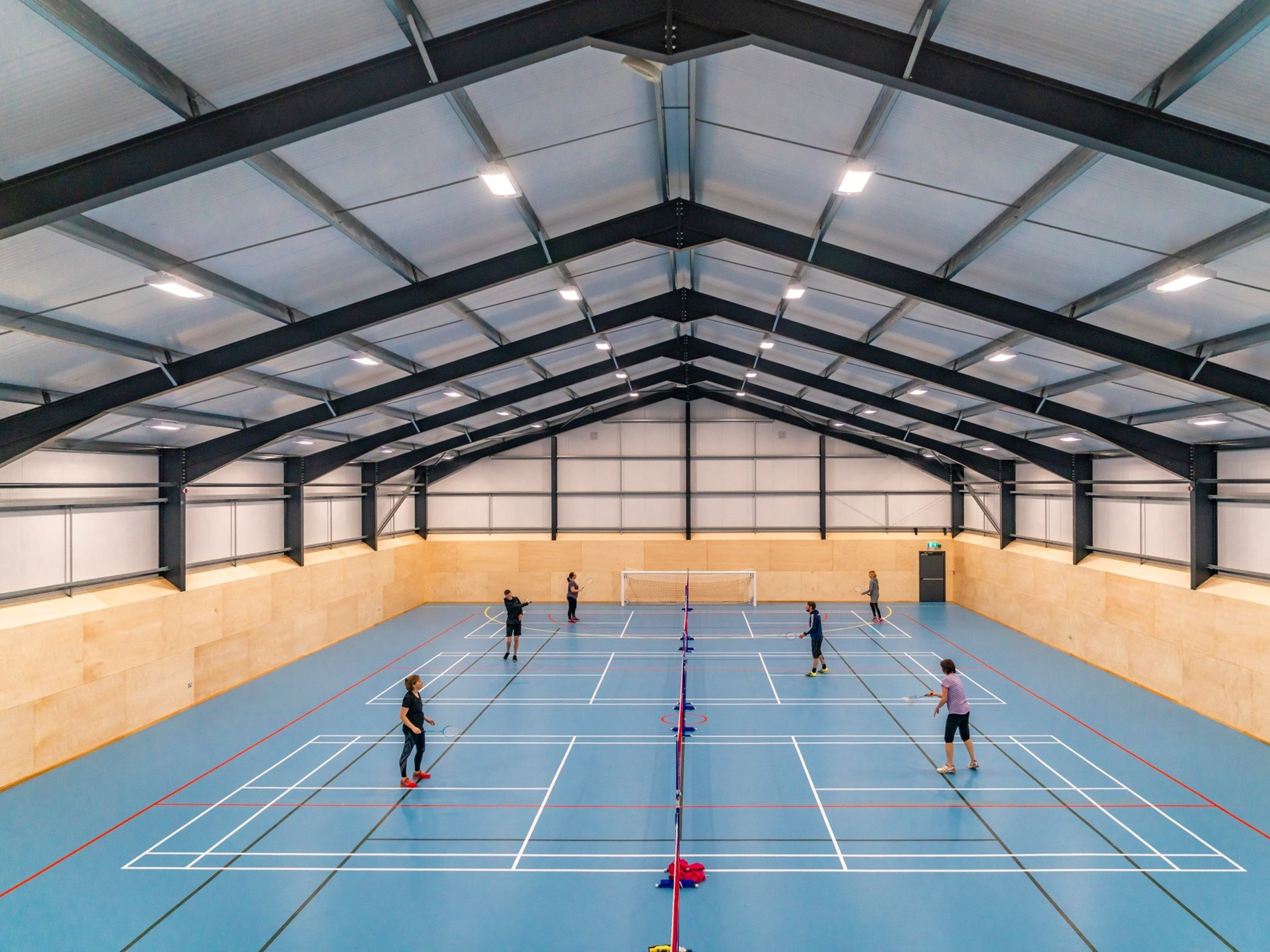 Full size sports hall
