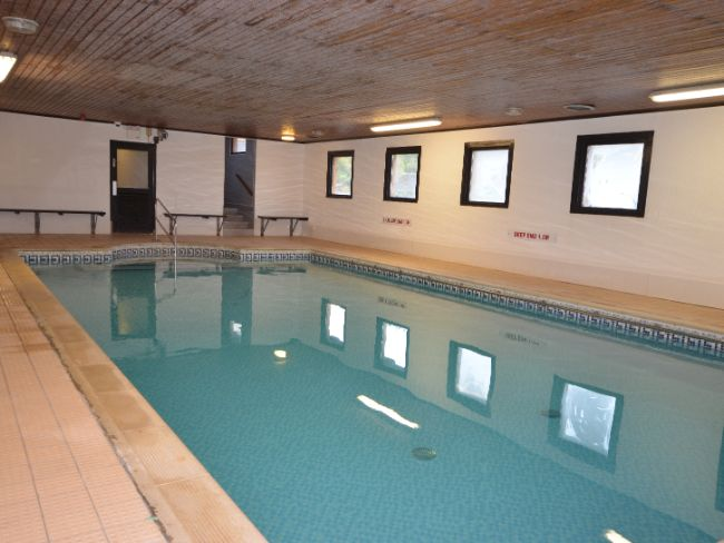 The shared swimming pool