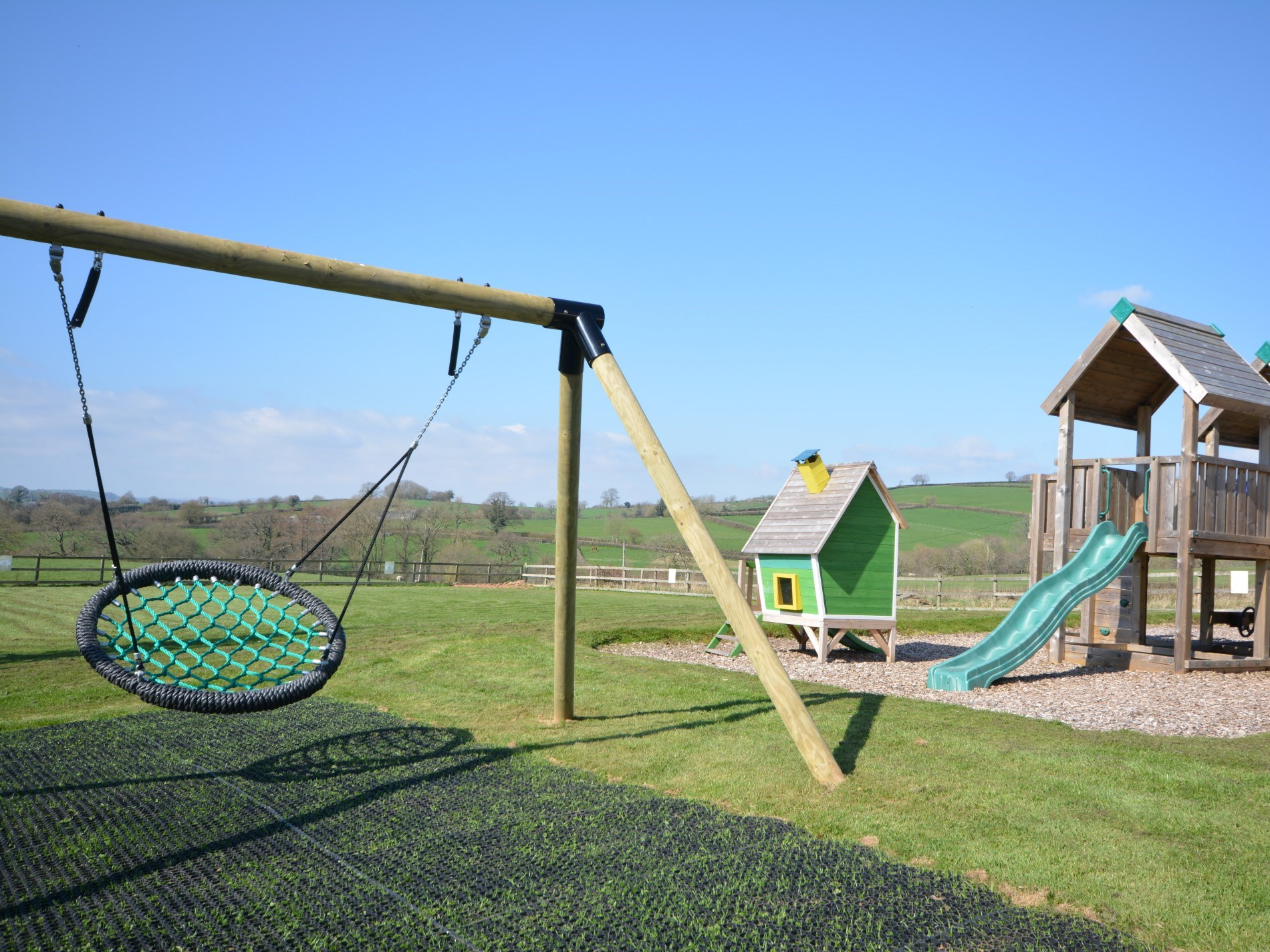 Communal play area