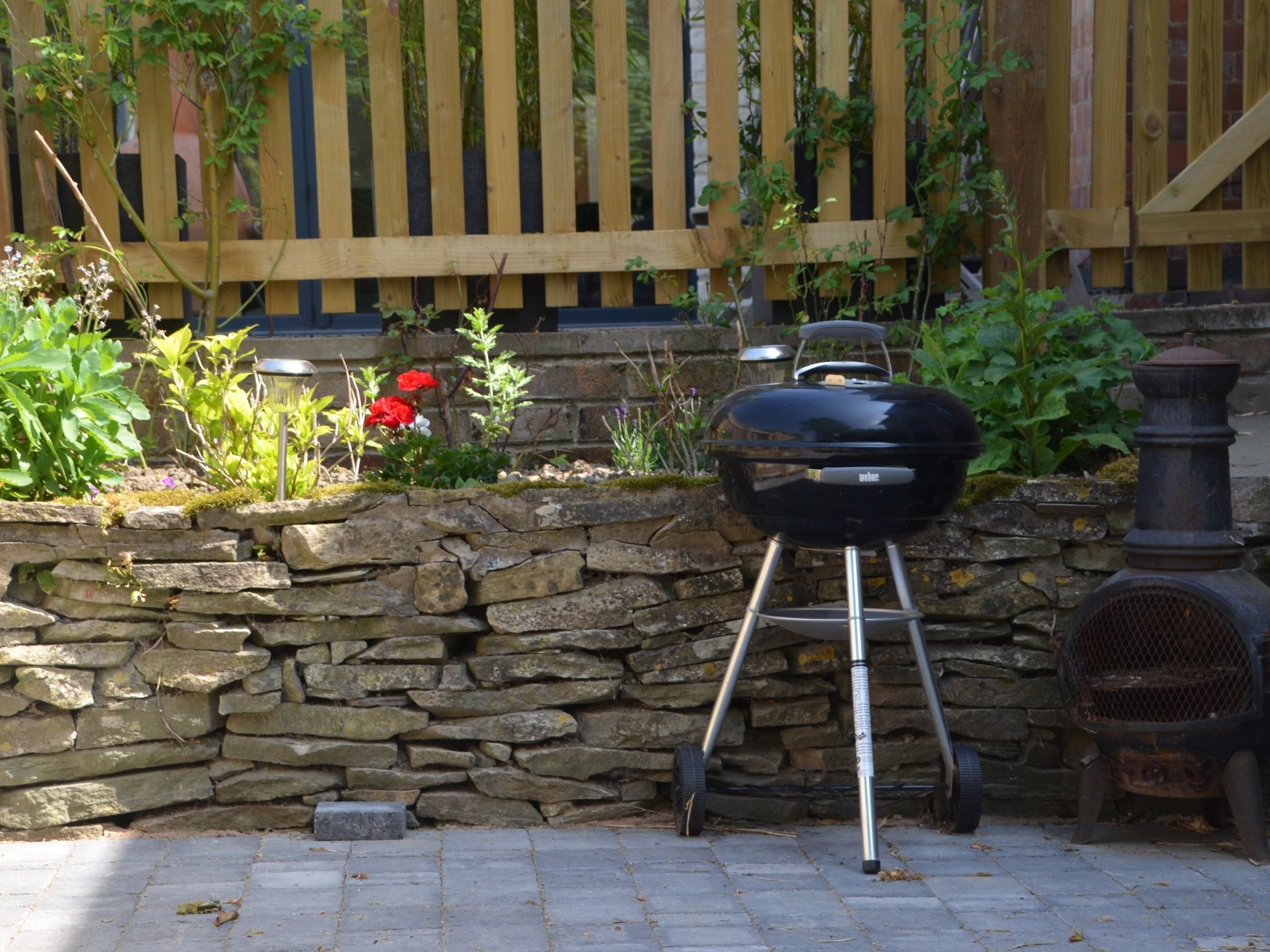 Enjoy a BBQ in your private courtyard