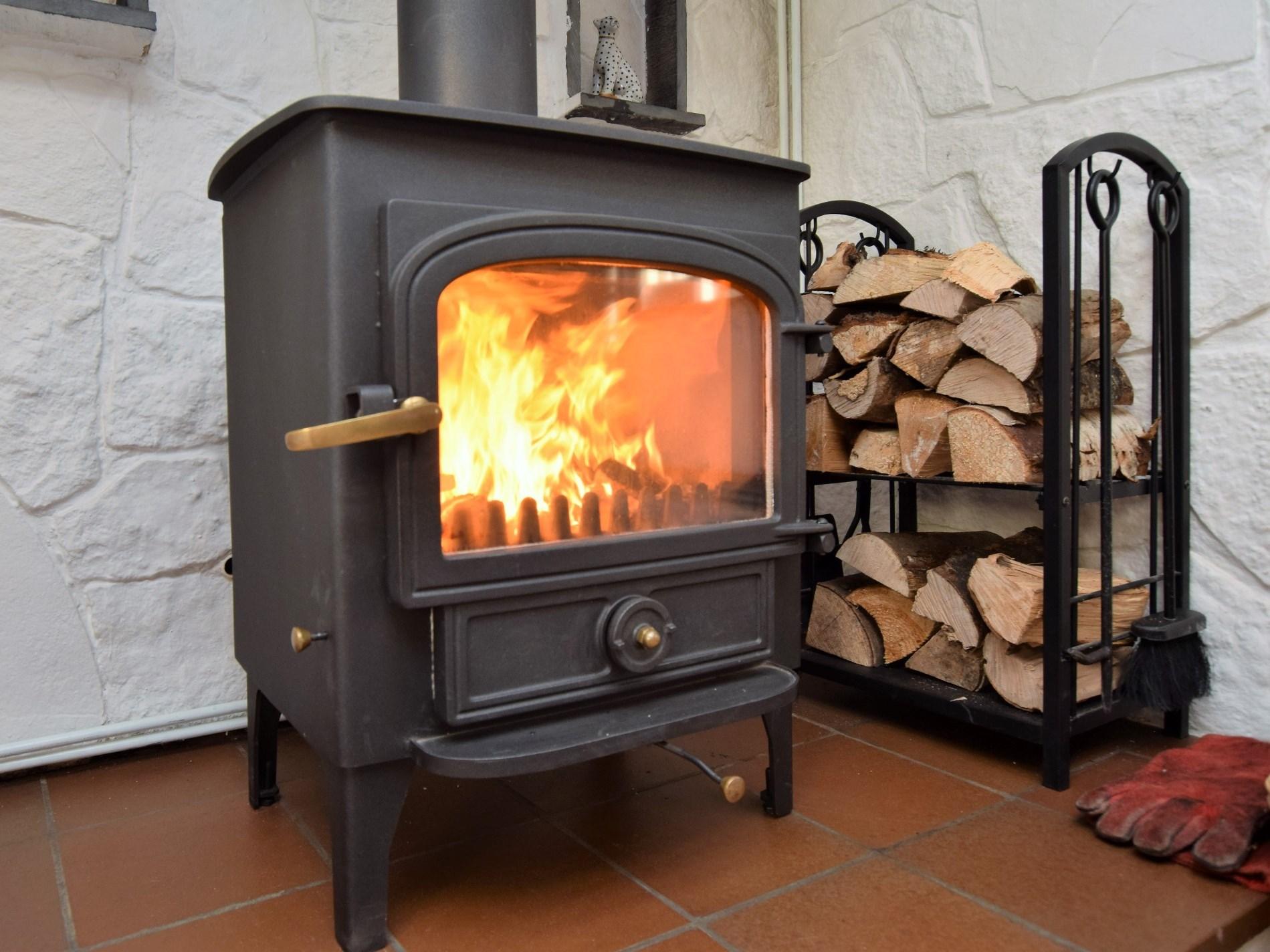 Beautiful woodburner