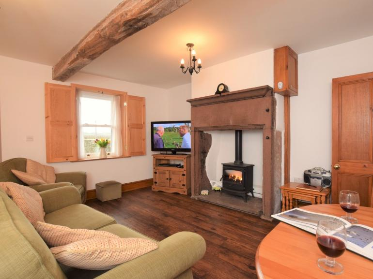 Cosy up in the lounge