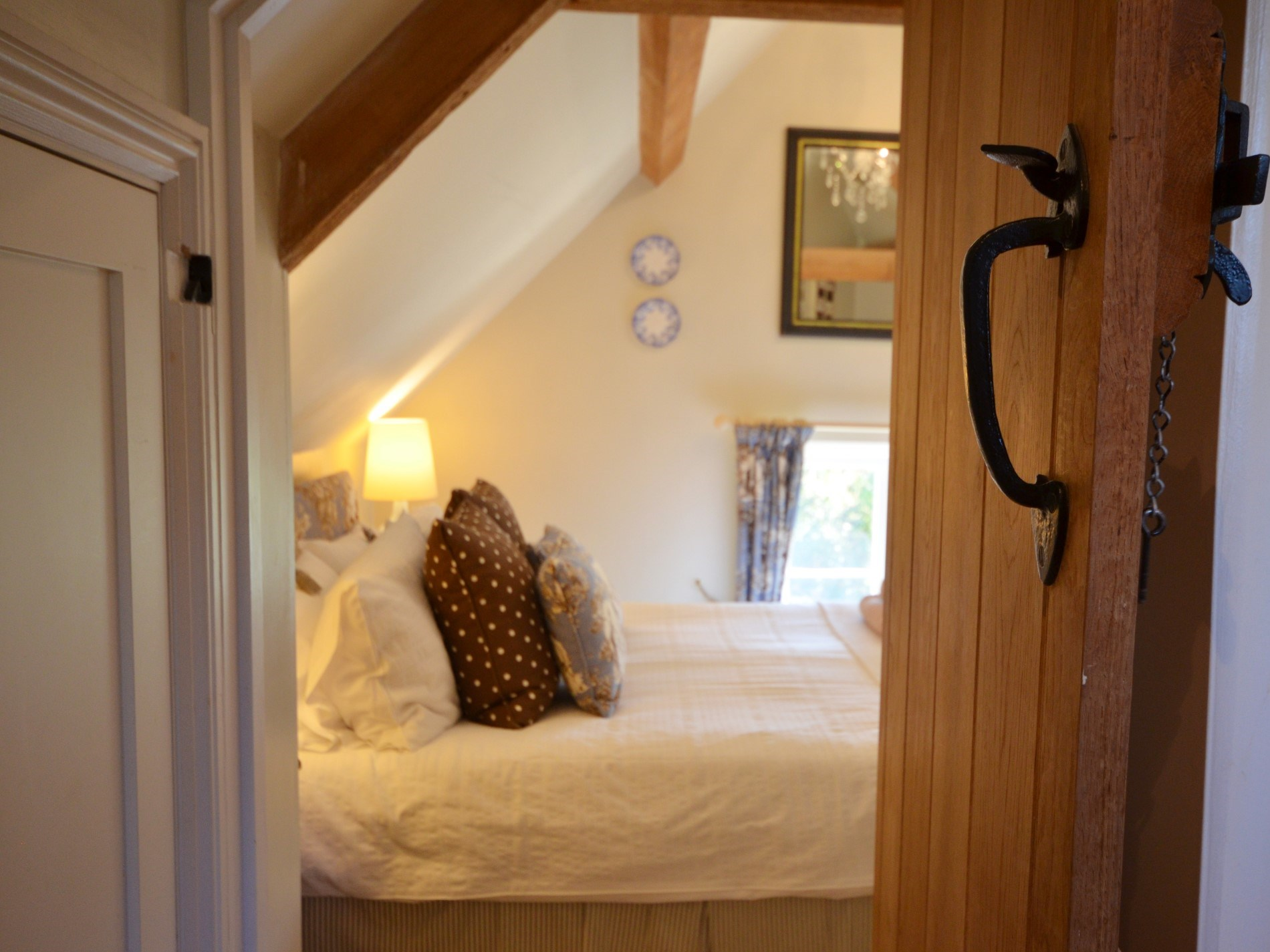 View to the bedroom from the en-suite