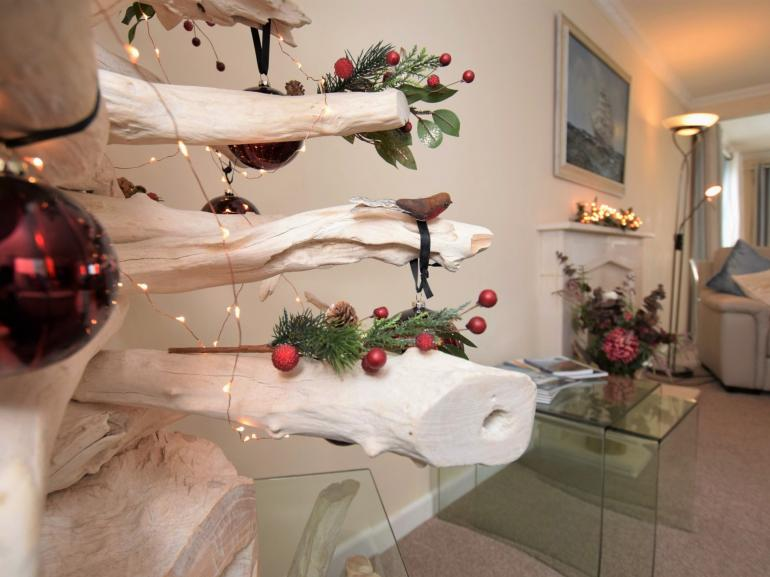 Enjoy Christmas with a sea view