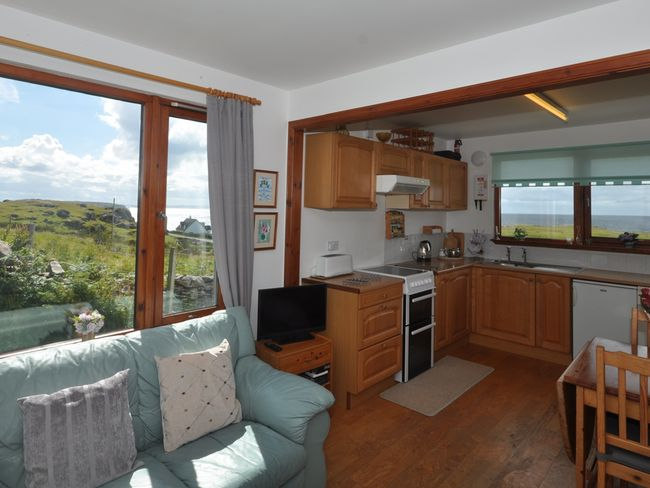 Lounge/kitchen/diner with far reaching views