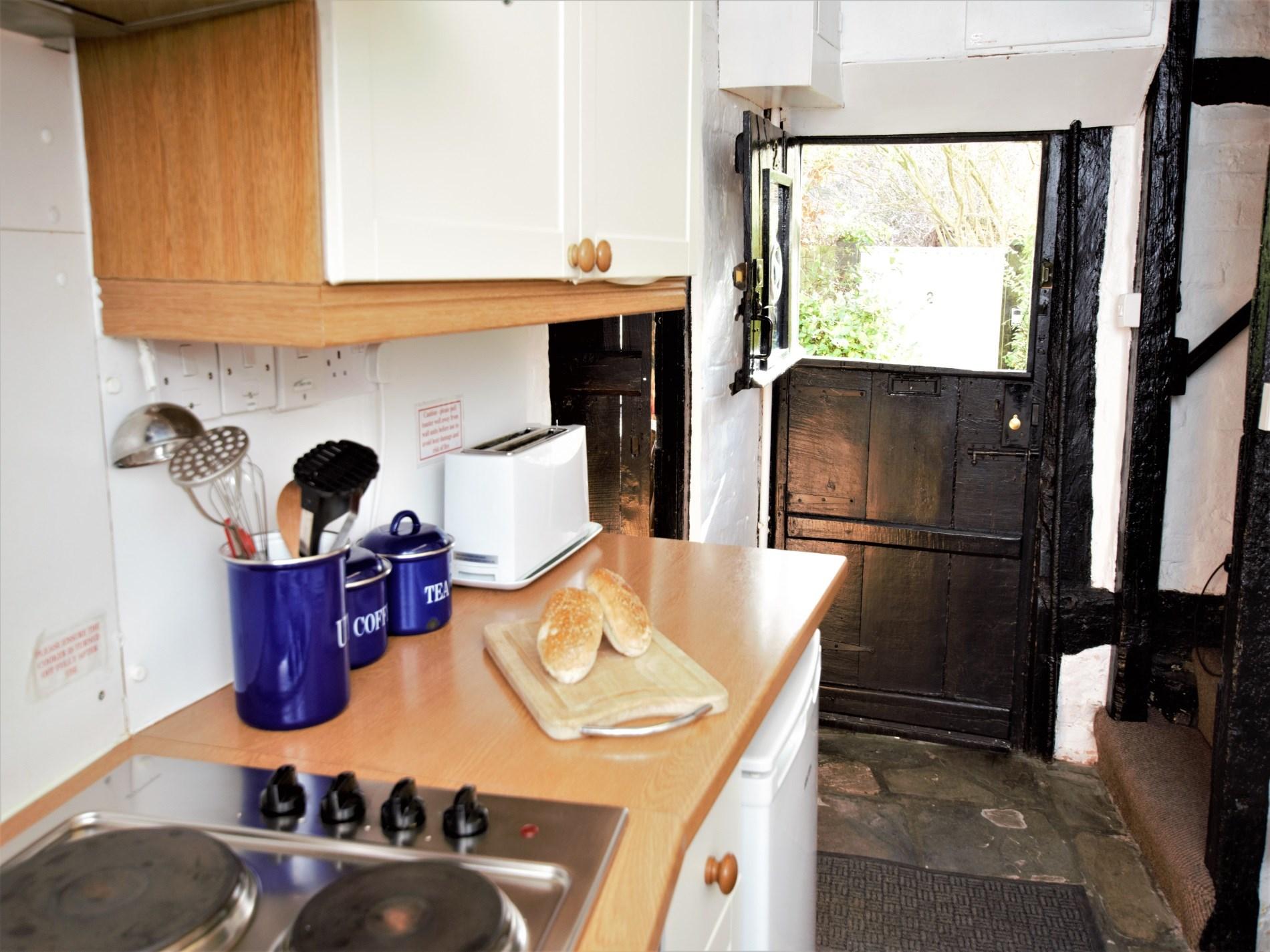Stable door in the kitchen