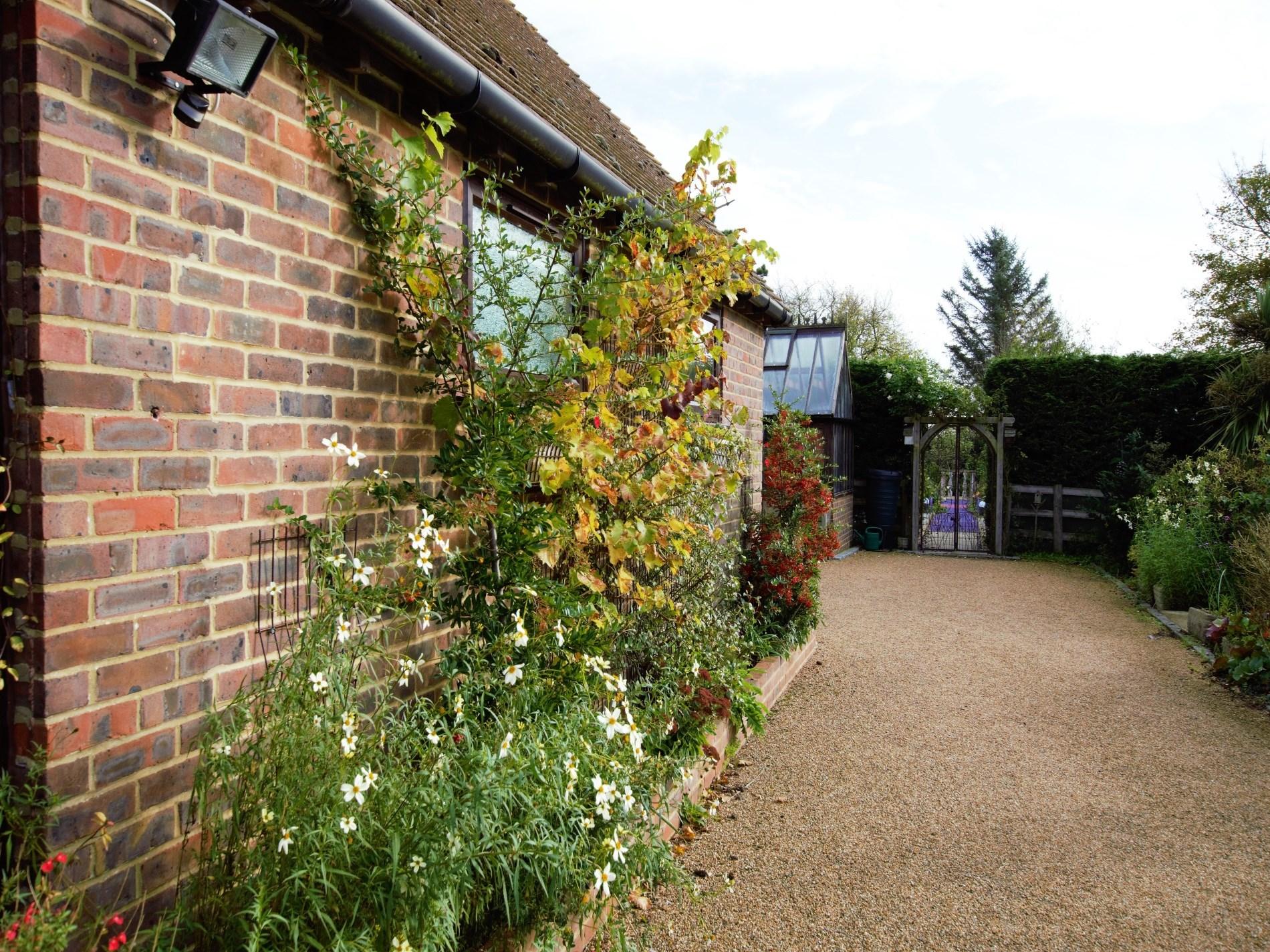 View towards the garden