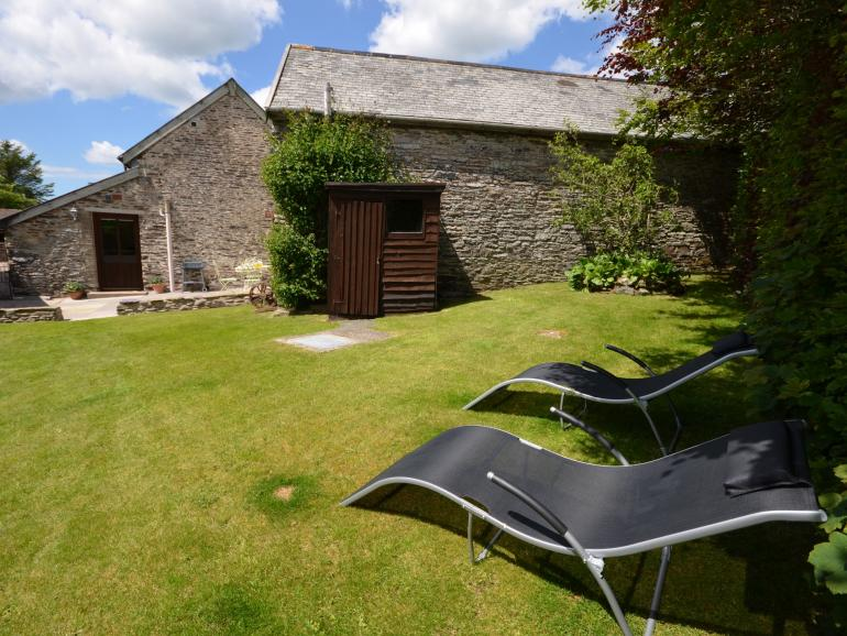 Relax in the private, enclosed garden