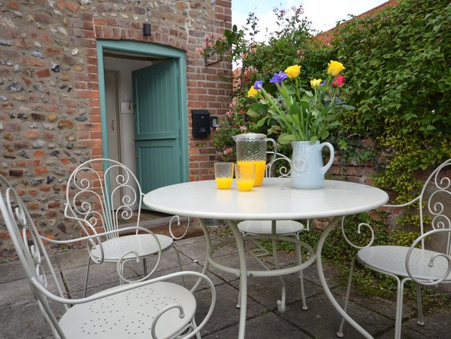 Relax and unwind in the peaceful courtyard