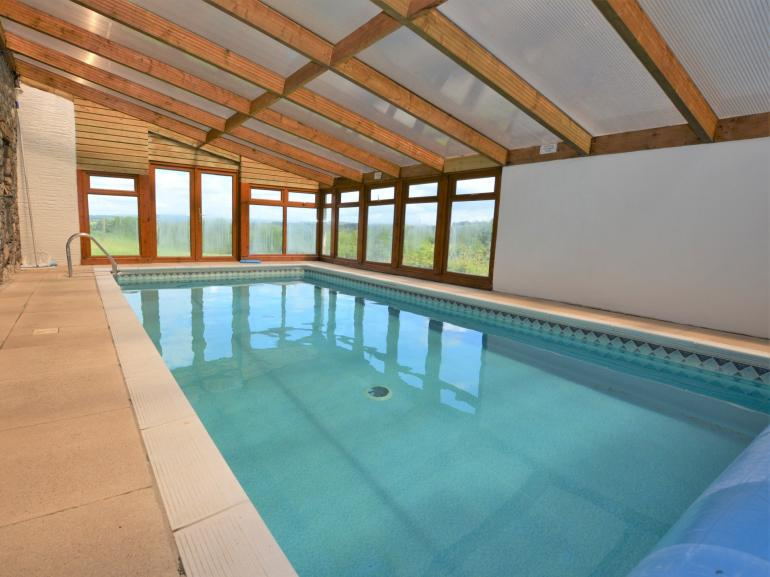 Shared indoor swimming pool
