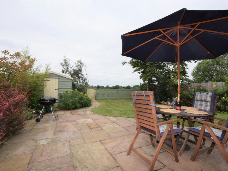 Ideal for alfresco dining with BBQ