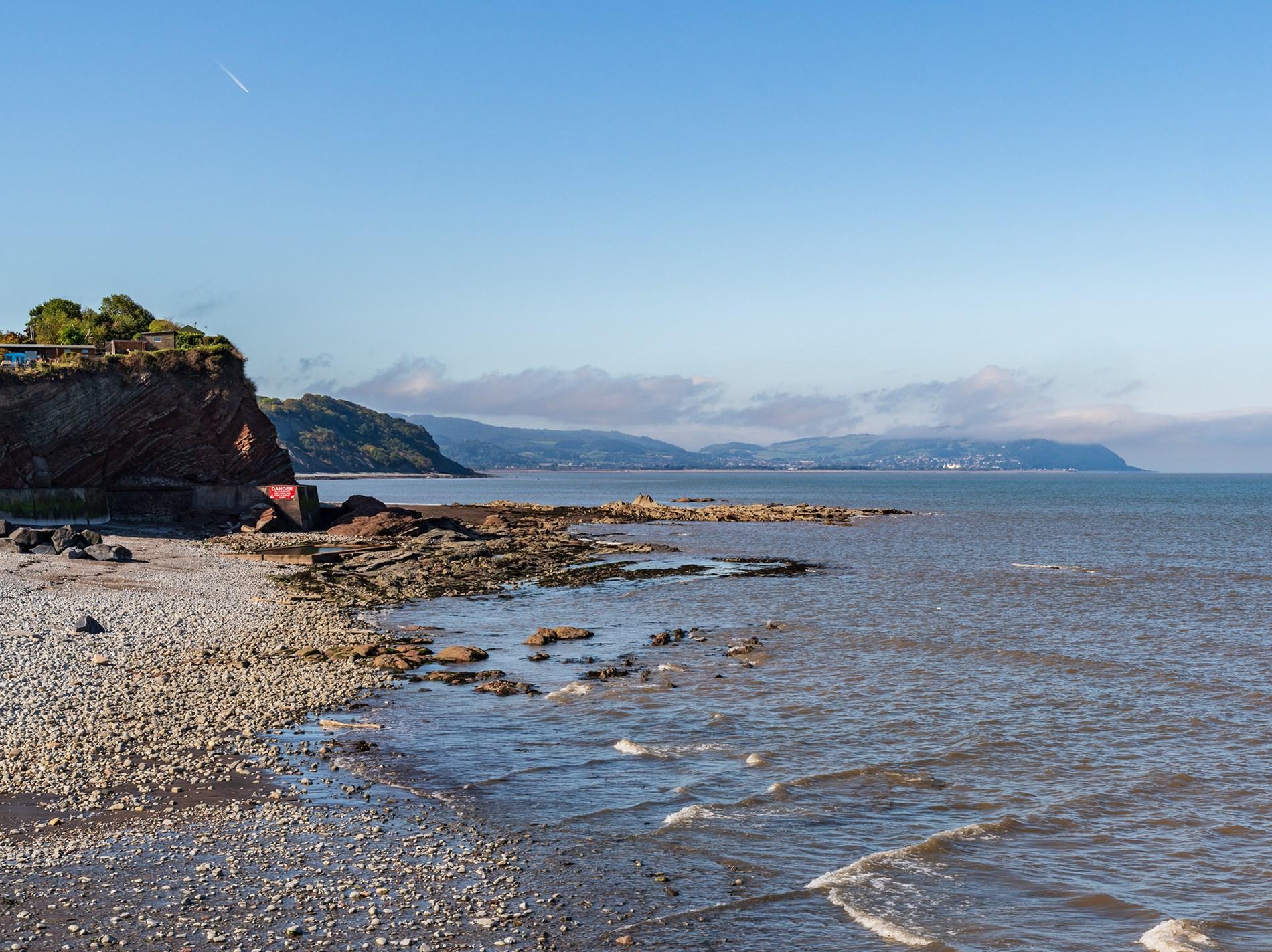 Take a stroll to the local beach