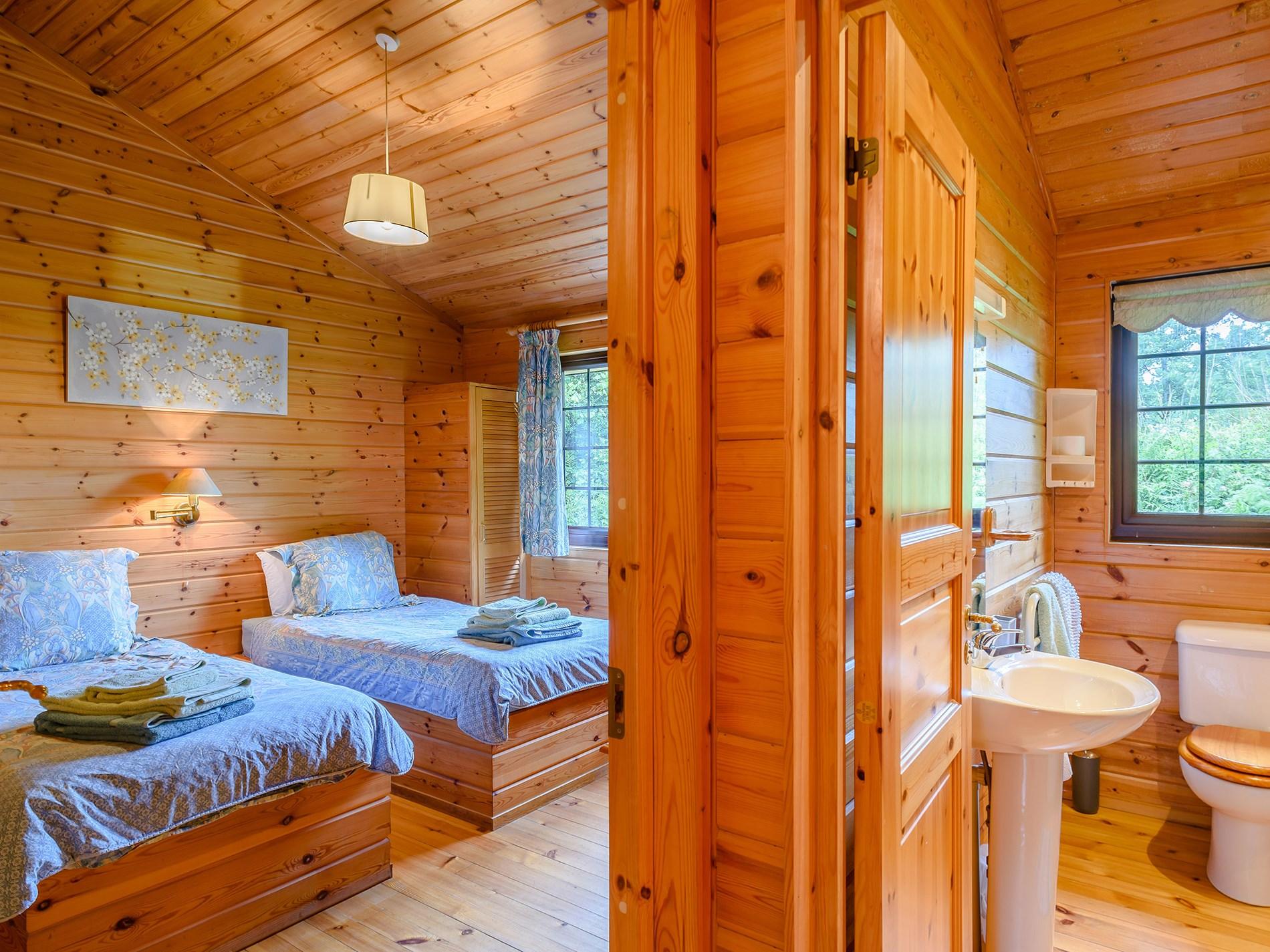 3 Bedroom Log Cabin in North Devon, Devon