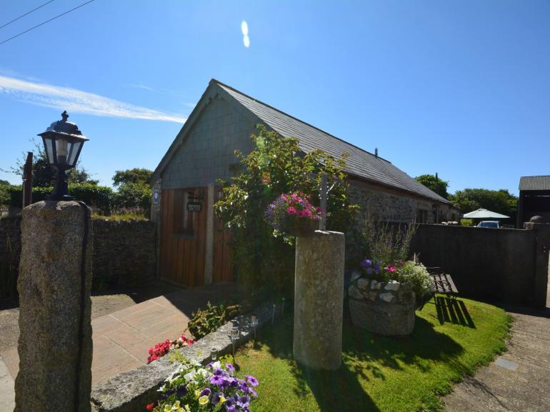 View towards this Cornish retreat