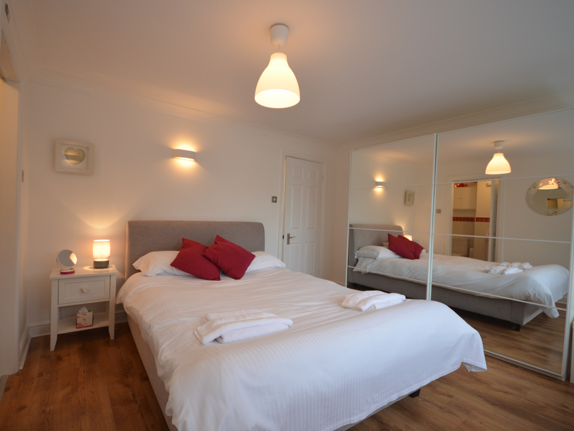 Double bedroom with en-suite and ample storage