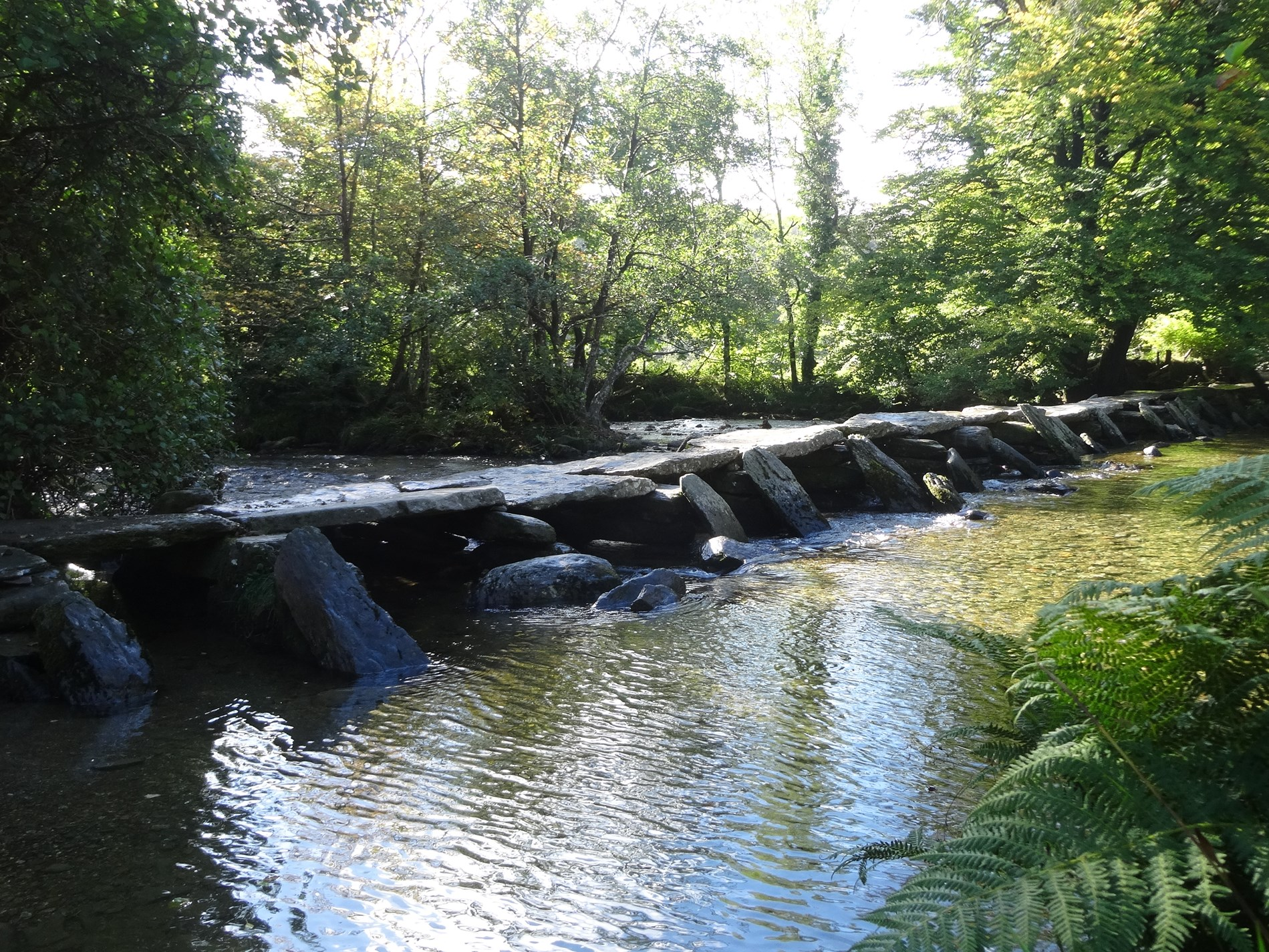 Enjoy Tarr steps only 5.5miles from the property , located on Exmoor National Park