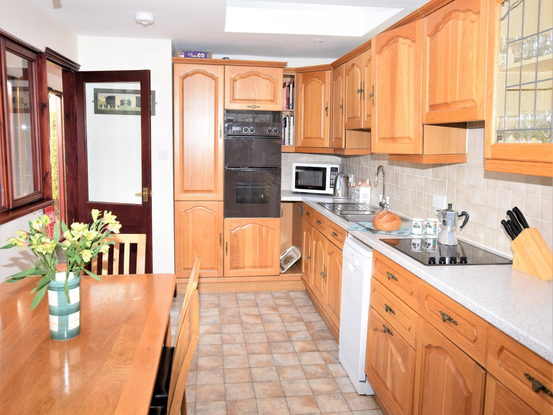Plenty of space for keen cooks