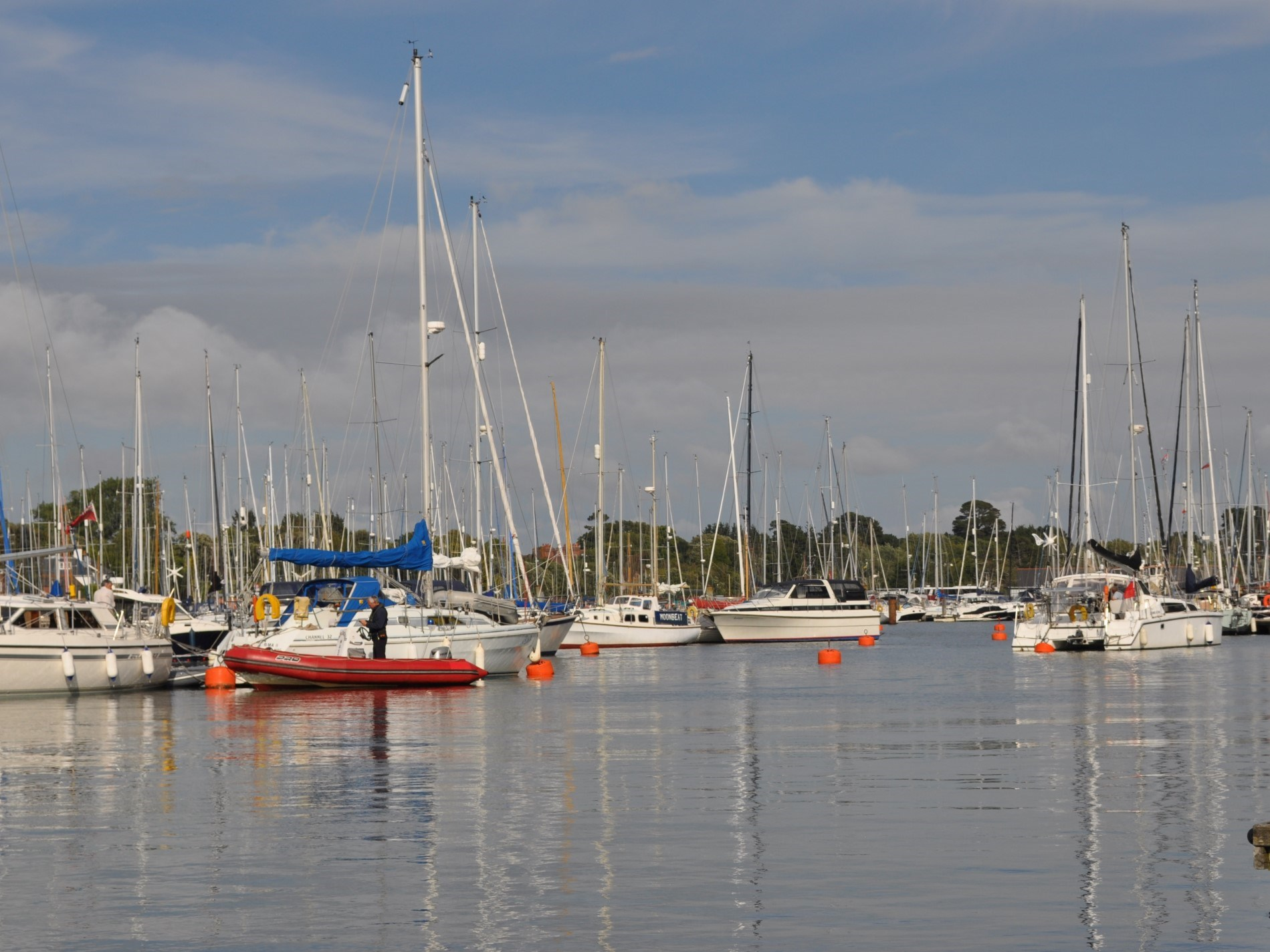 Views from Lymington Quay