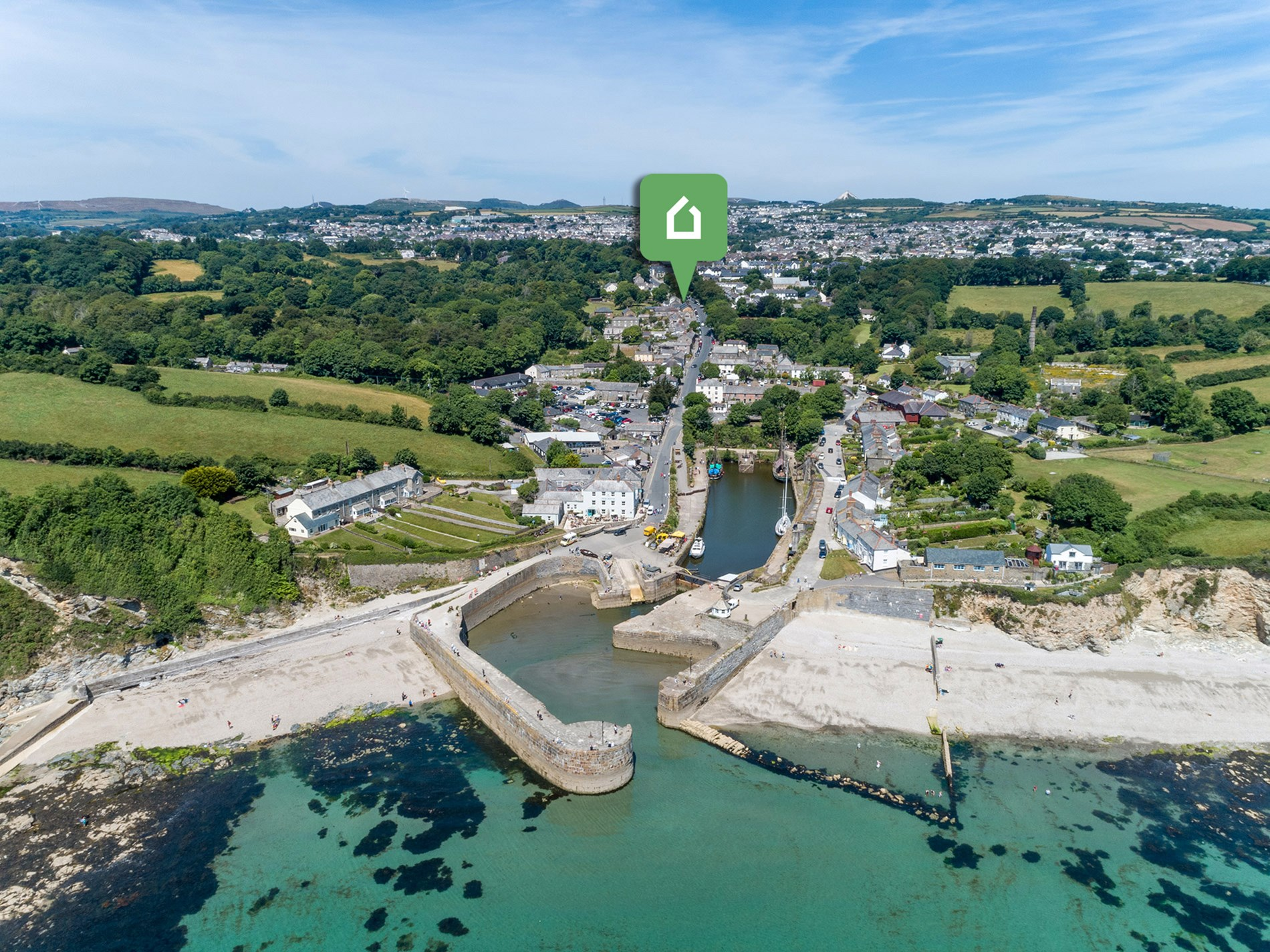 2 Bedroom House in South Cornwall, Cornwall